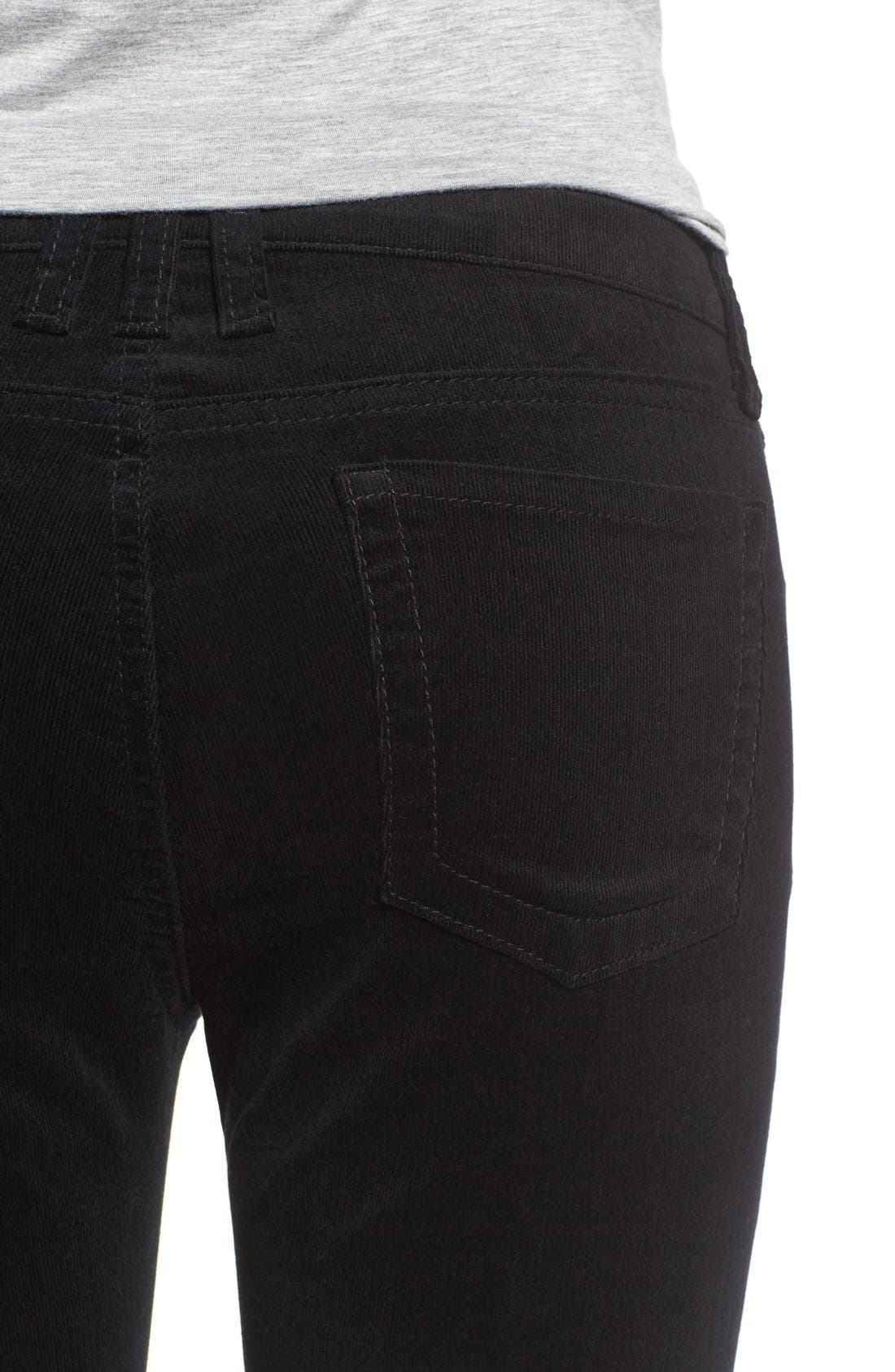 'Diana' Stretch Corduroy Skinny Pants,                             Alternate thumbnail 223, color,