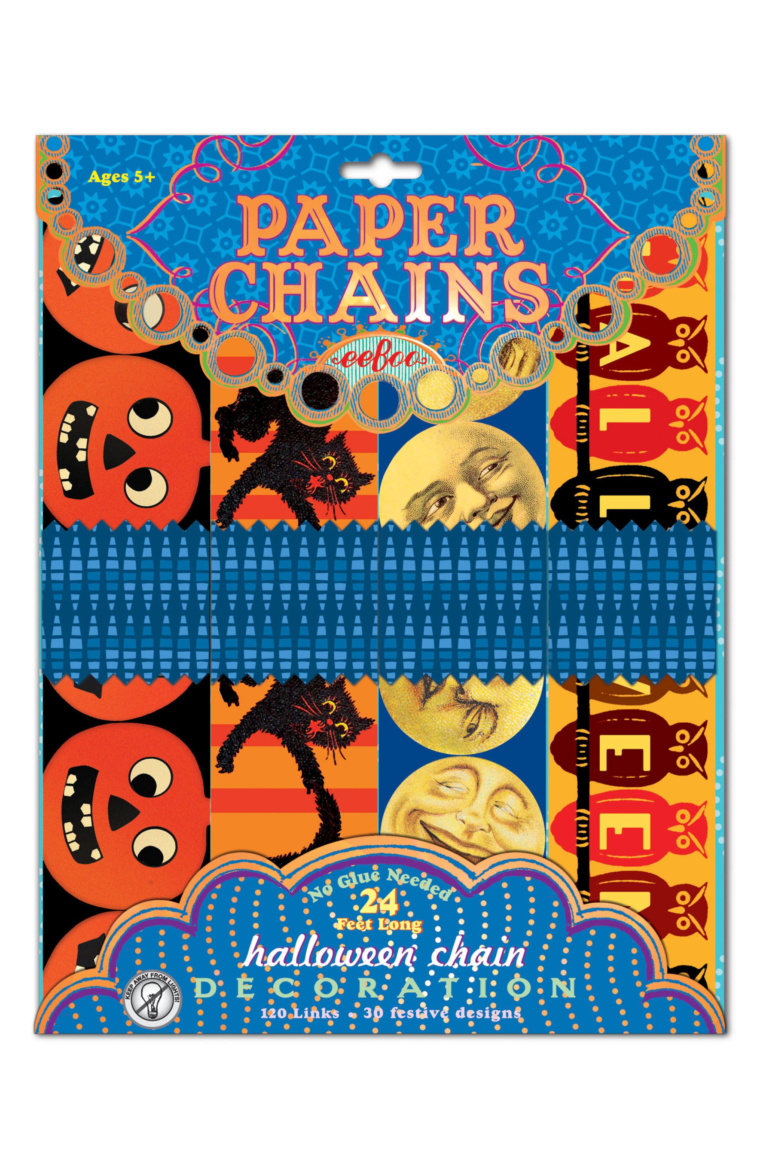 Toddler Eeboo Halloween Paper Chain