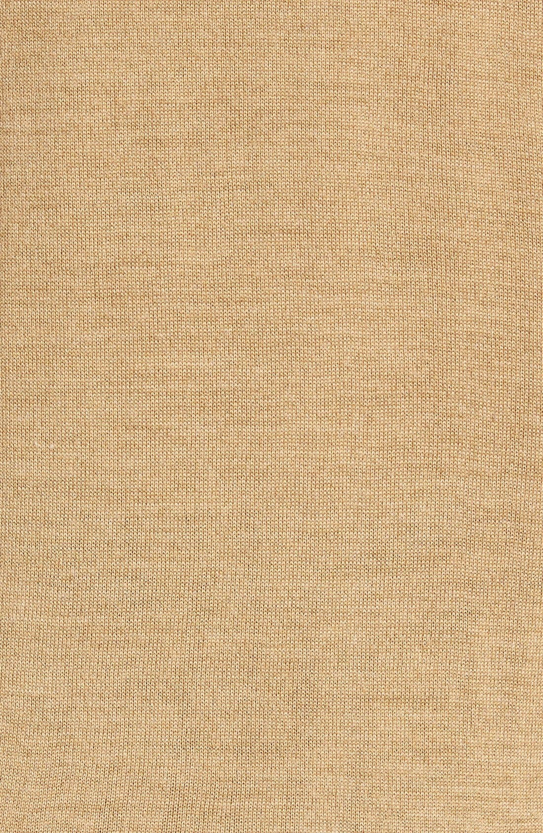 VINCE CAMUTO,                             Merino Wool Turtleneck,                             Alternate thumbnail 5, color,                             CAMEL