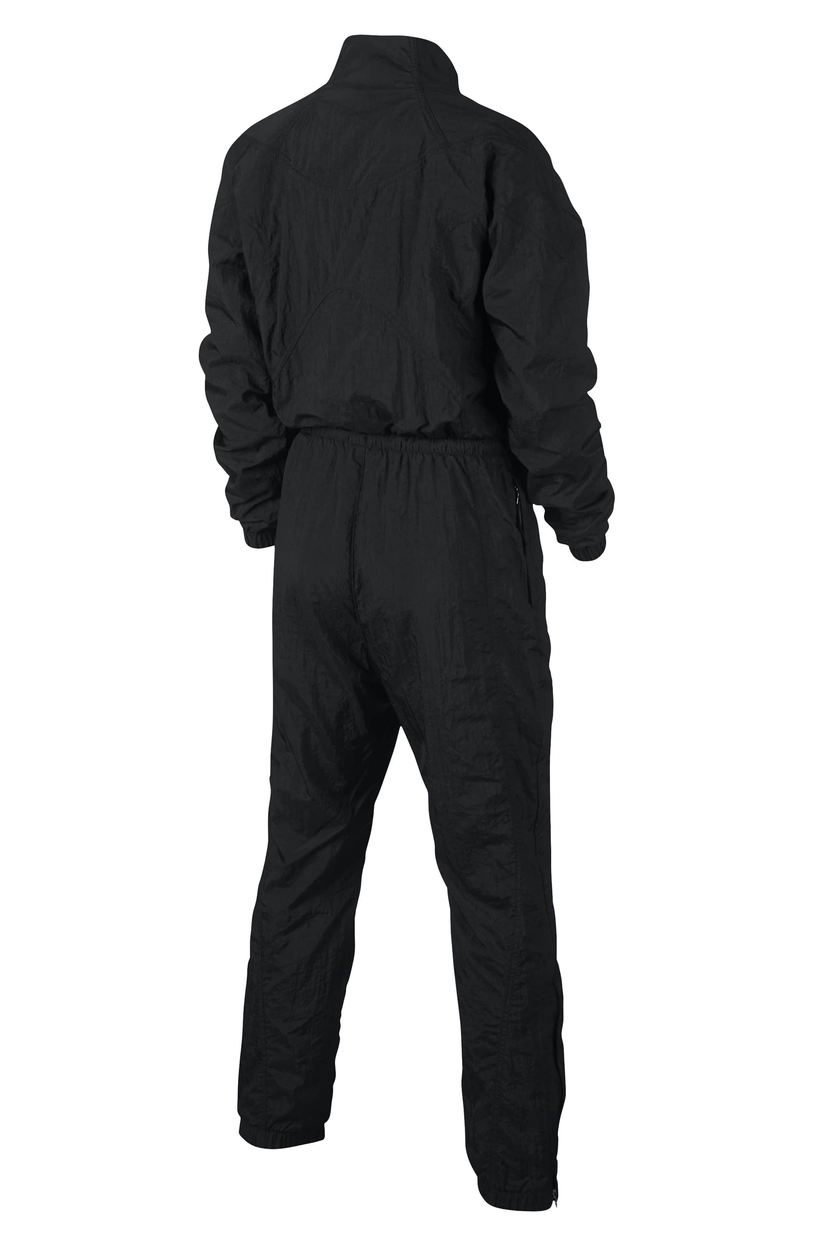 NikeLab Women's Jumpsuit,                             Alternate thumbnail 2, color,                             BLACK/ BLACK