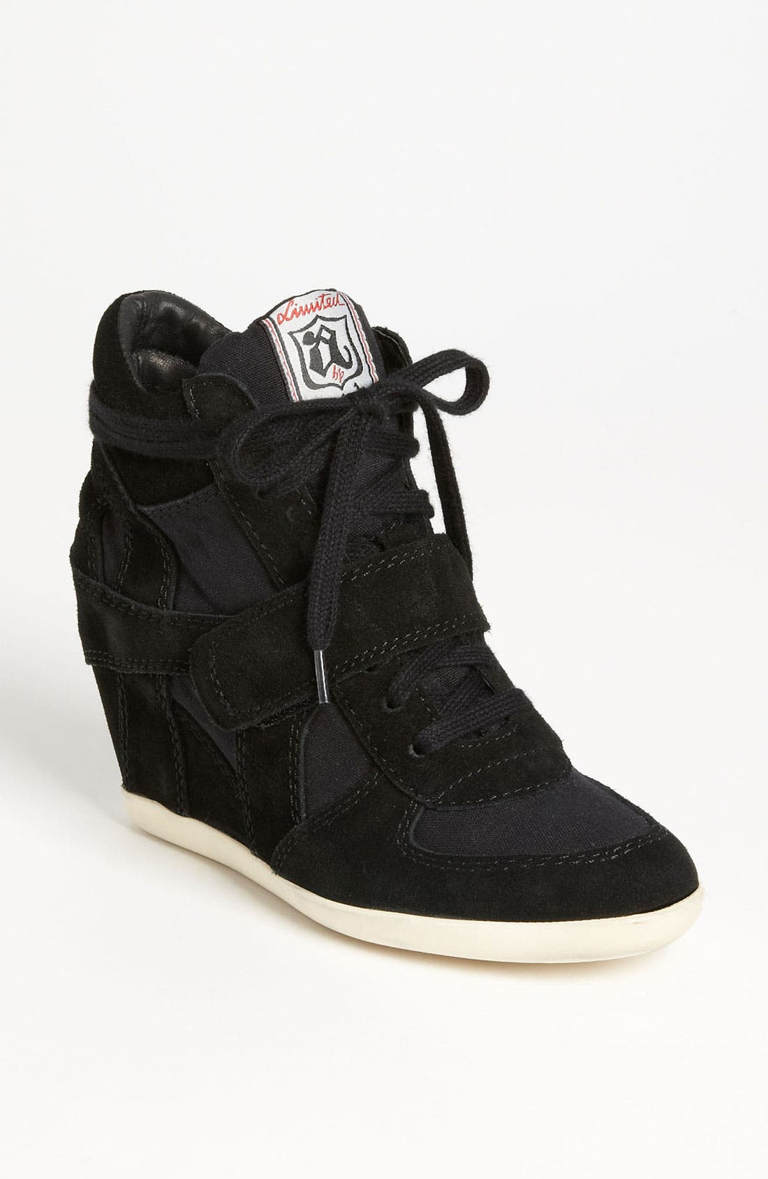 'Bowie' Hidden Wedge Sneaker,                             Main thumbnail 1, color,                             001