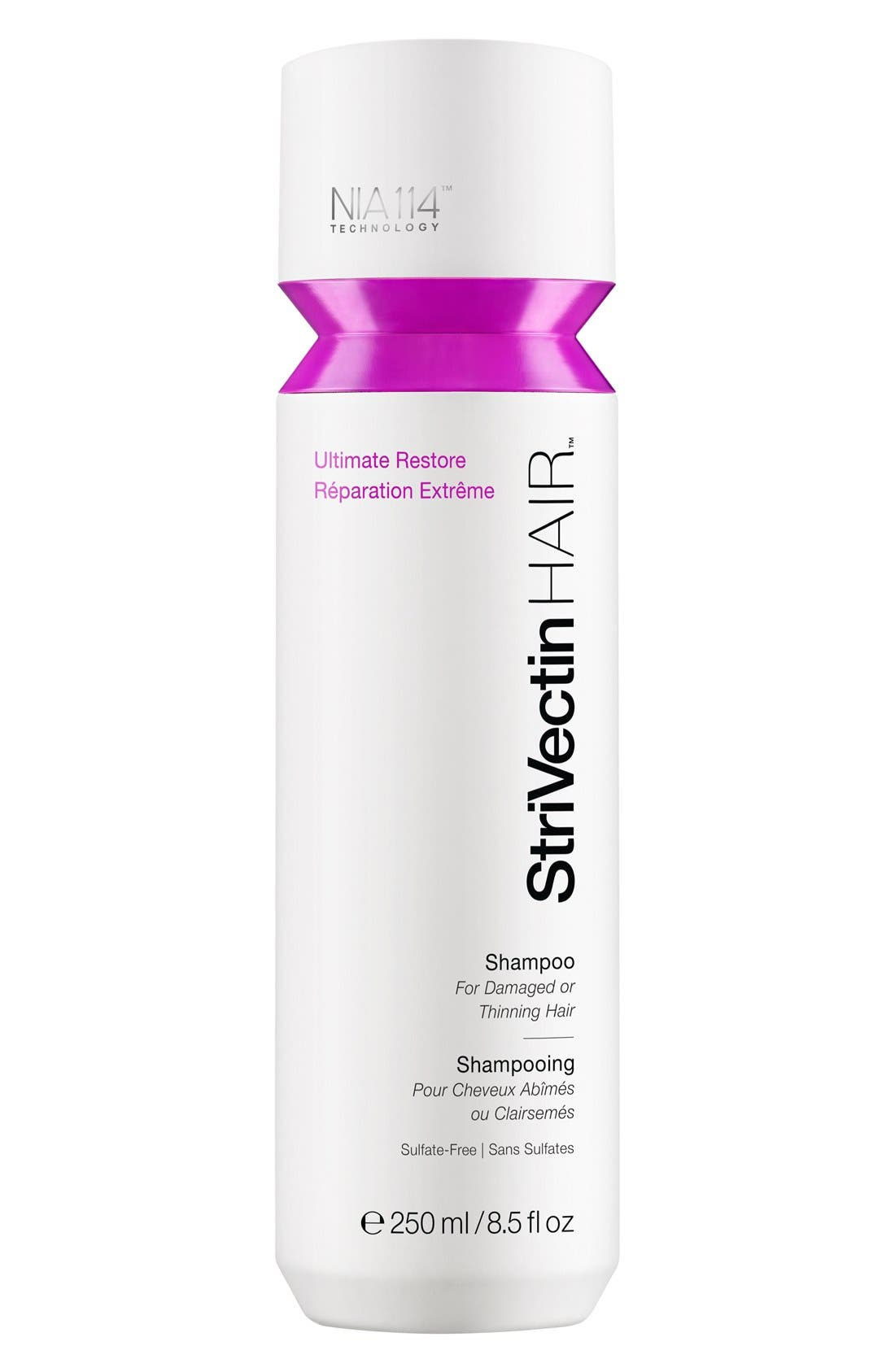 StriVectinHAIR<sup>™</sup> 'Ultimate Restore' Shampoo for Damaged or Thinning Hair,                             Alternate thumbnail 2, color,                             000
