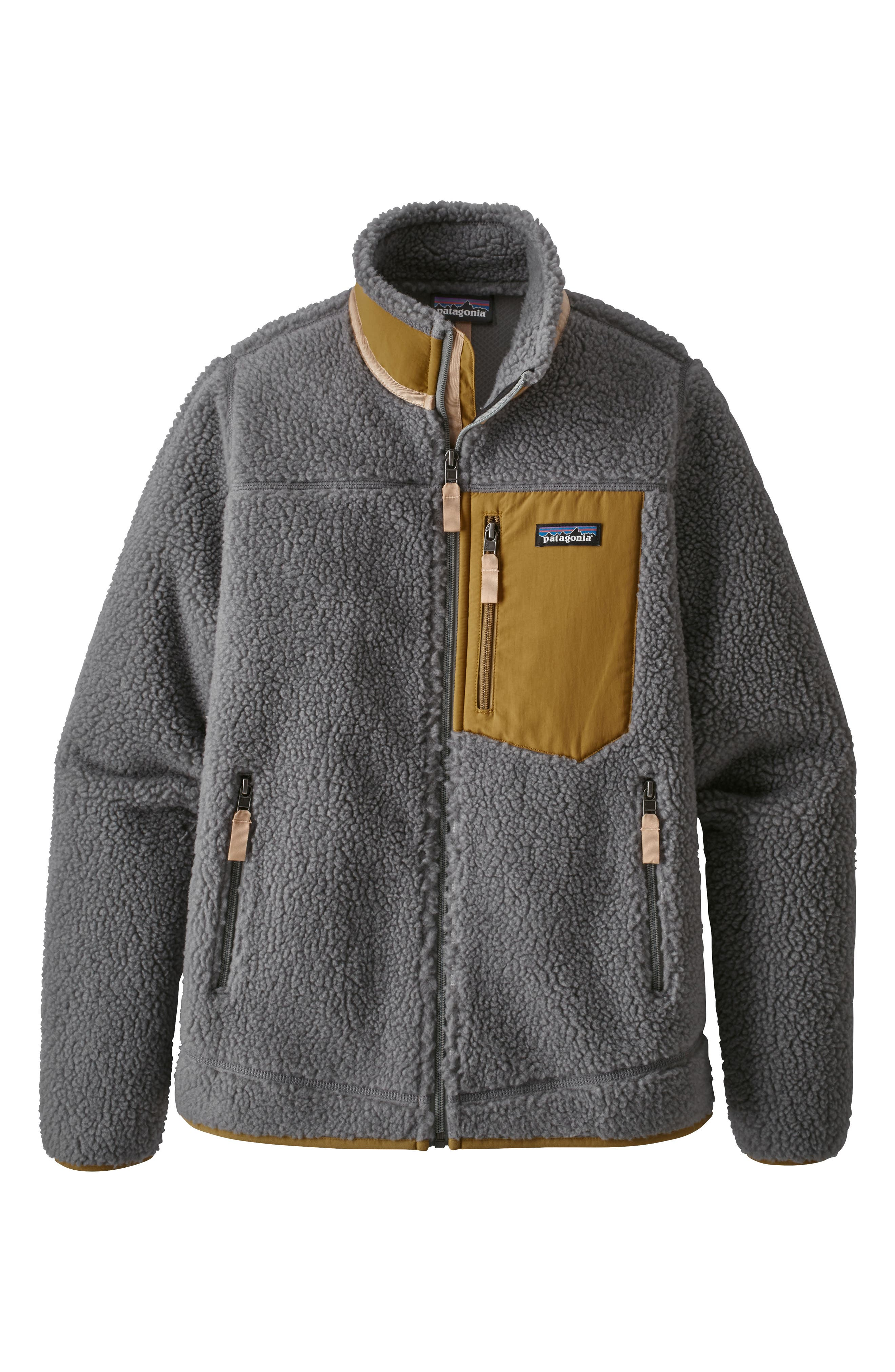 Patagonia Classic Retro-X Fleece Jacket, Grey