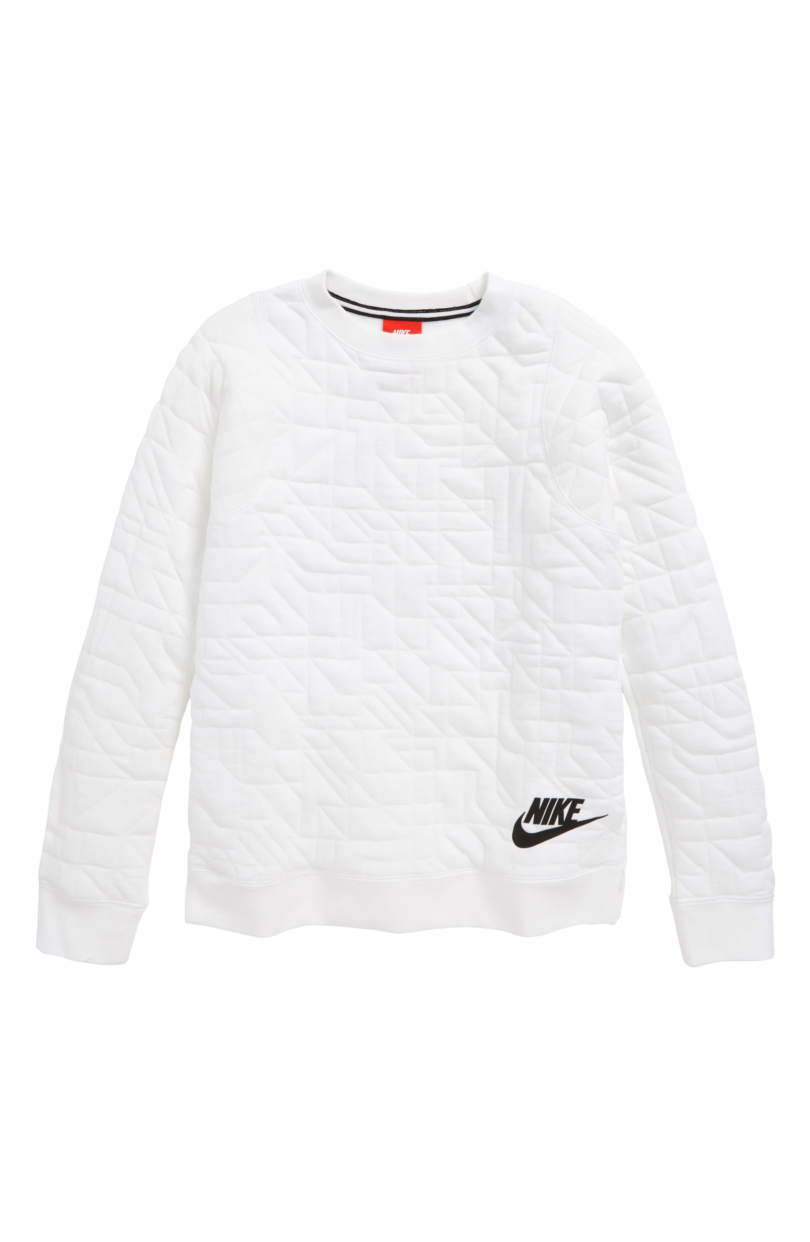 Modern Matelassé Sweatshirt,                             Main thumbnail 2, color,