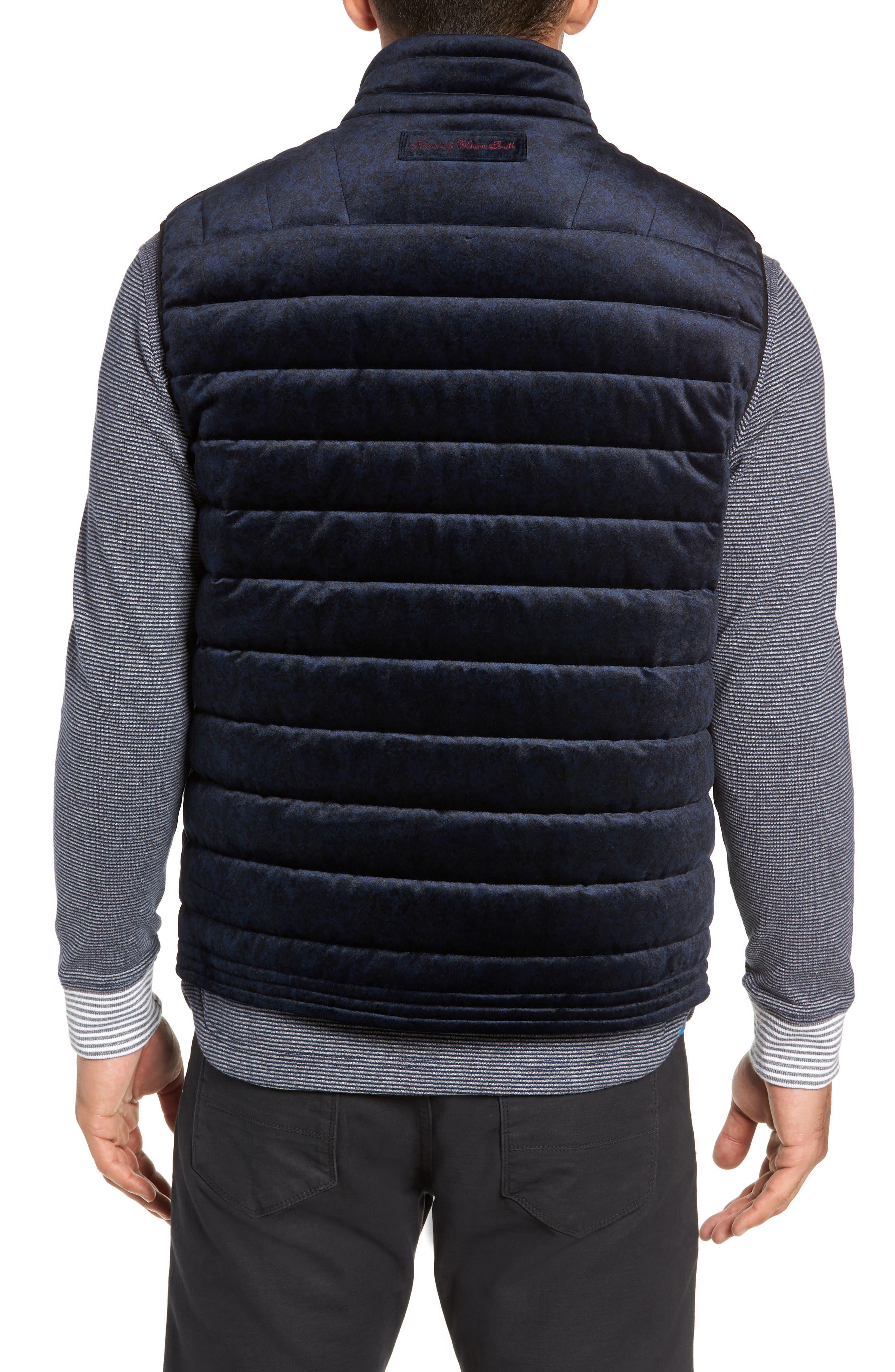 ROBERT GRAHAM,                             Guiffery Classic Fit Quilted Vest,                             Alternate thumbnail 2, color,                             410