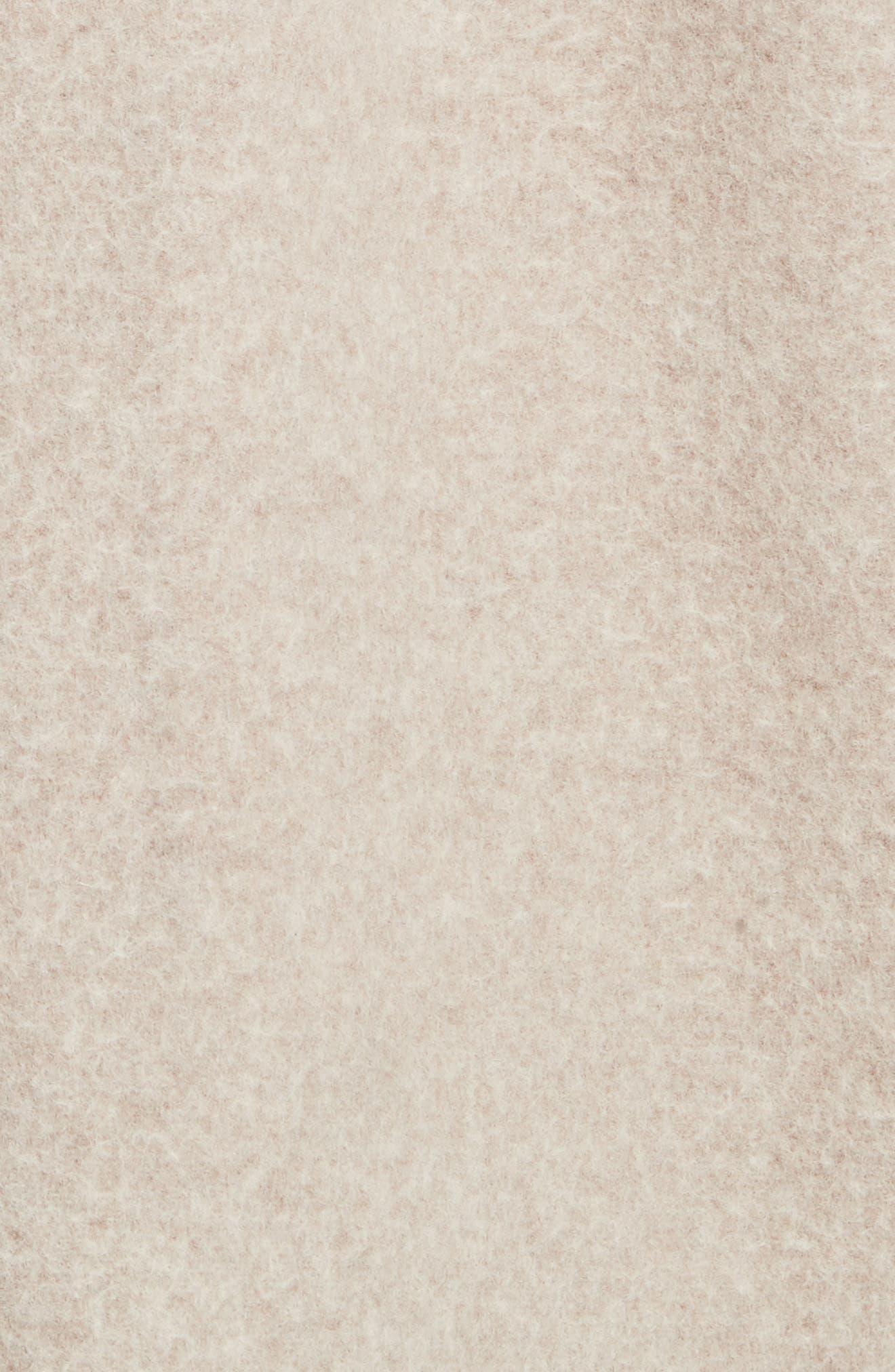 Clairene Hawthorne Wool Cashmere Coat,                             Alternate thumbnail 6, color,                             260