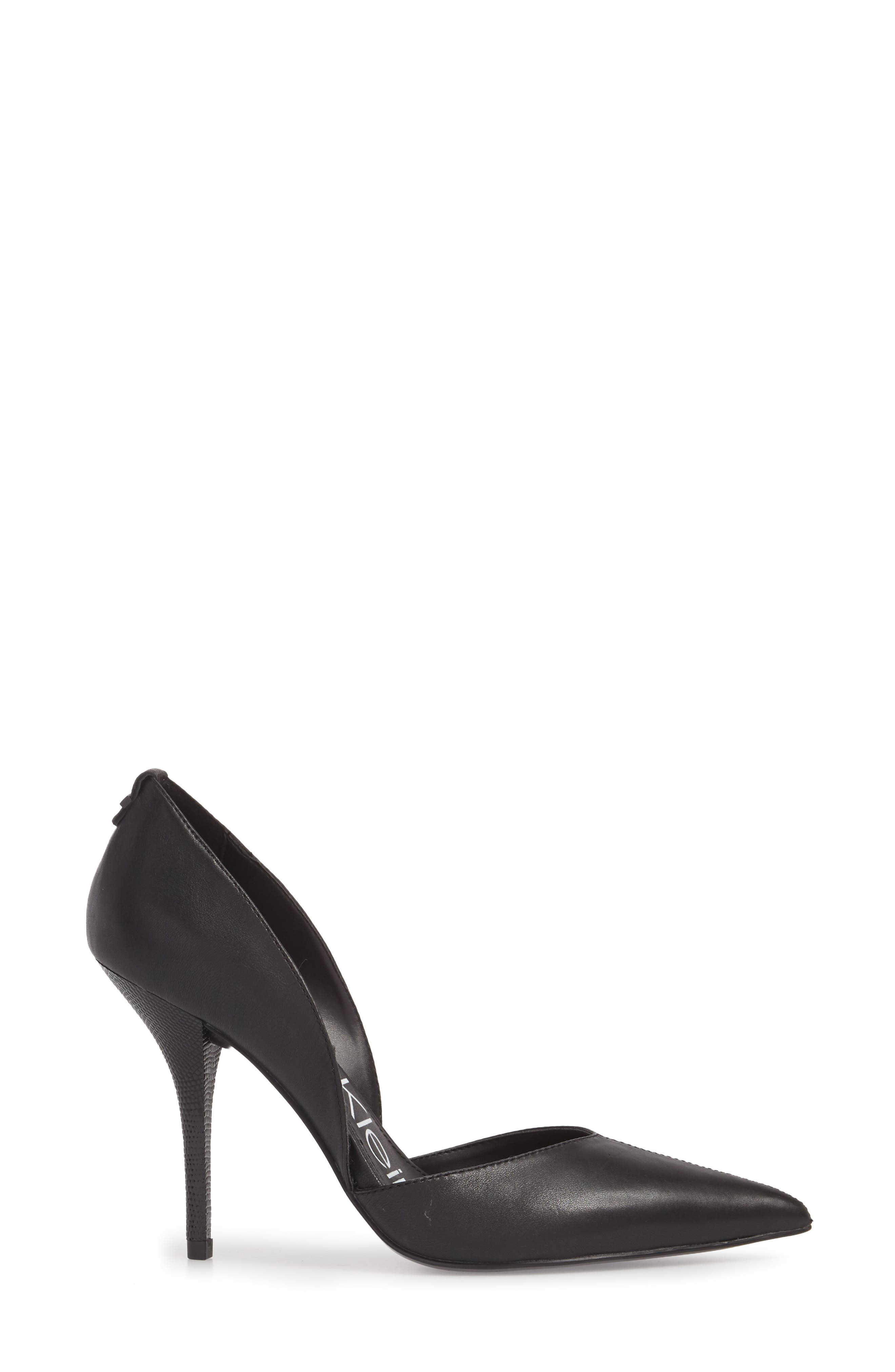 Marybeth d'Orsay Pump,                             Alternate thumbnail 3, color,                             001