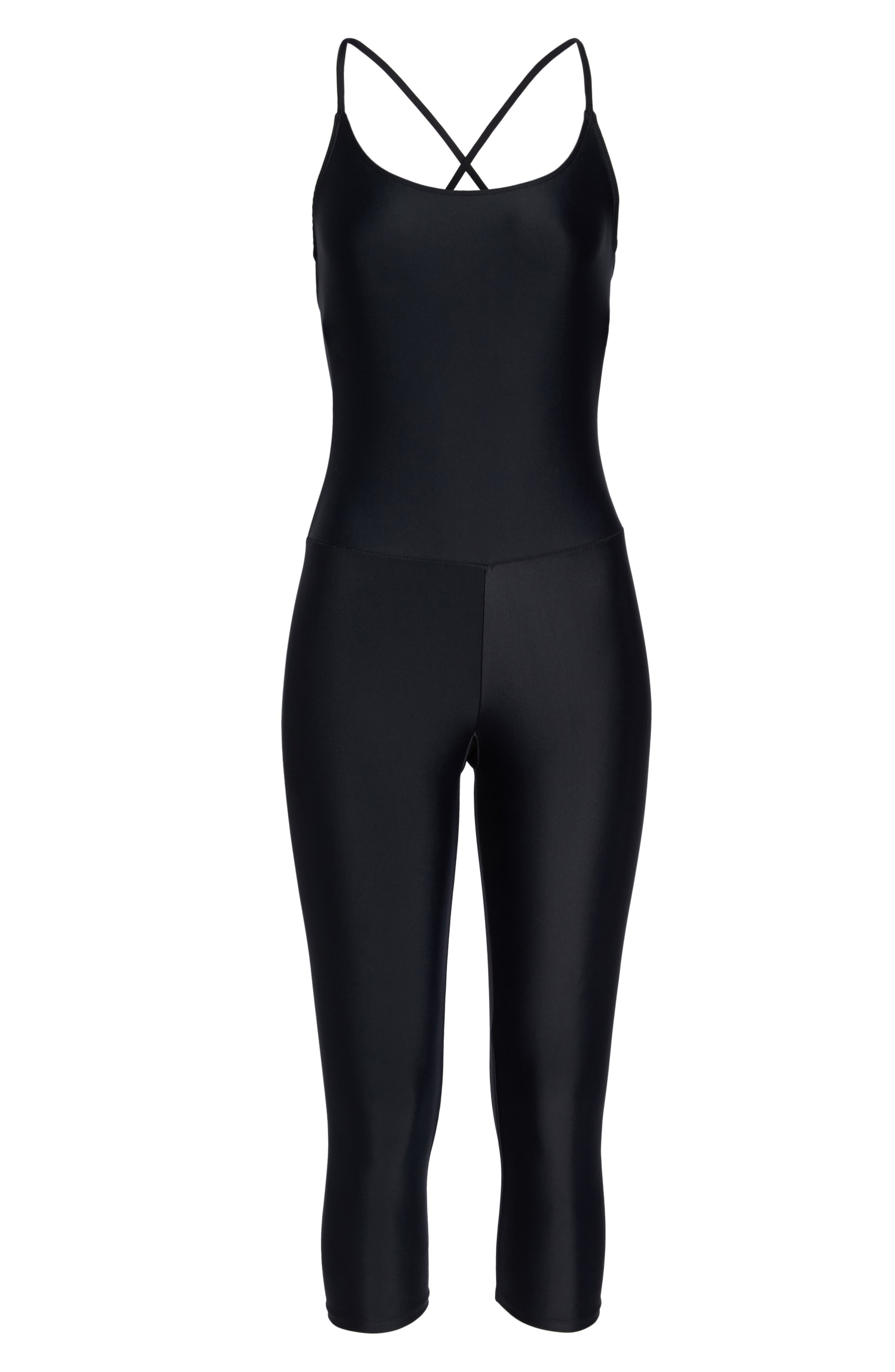 Long Leotard,                             Alternate thumbnail 7, color,                             BLACK