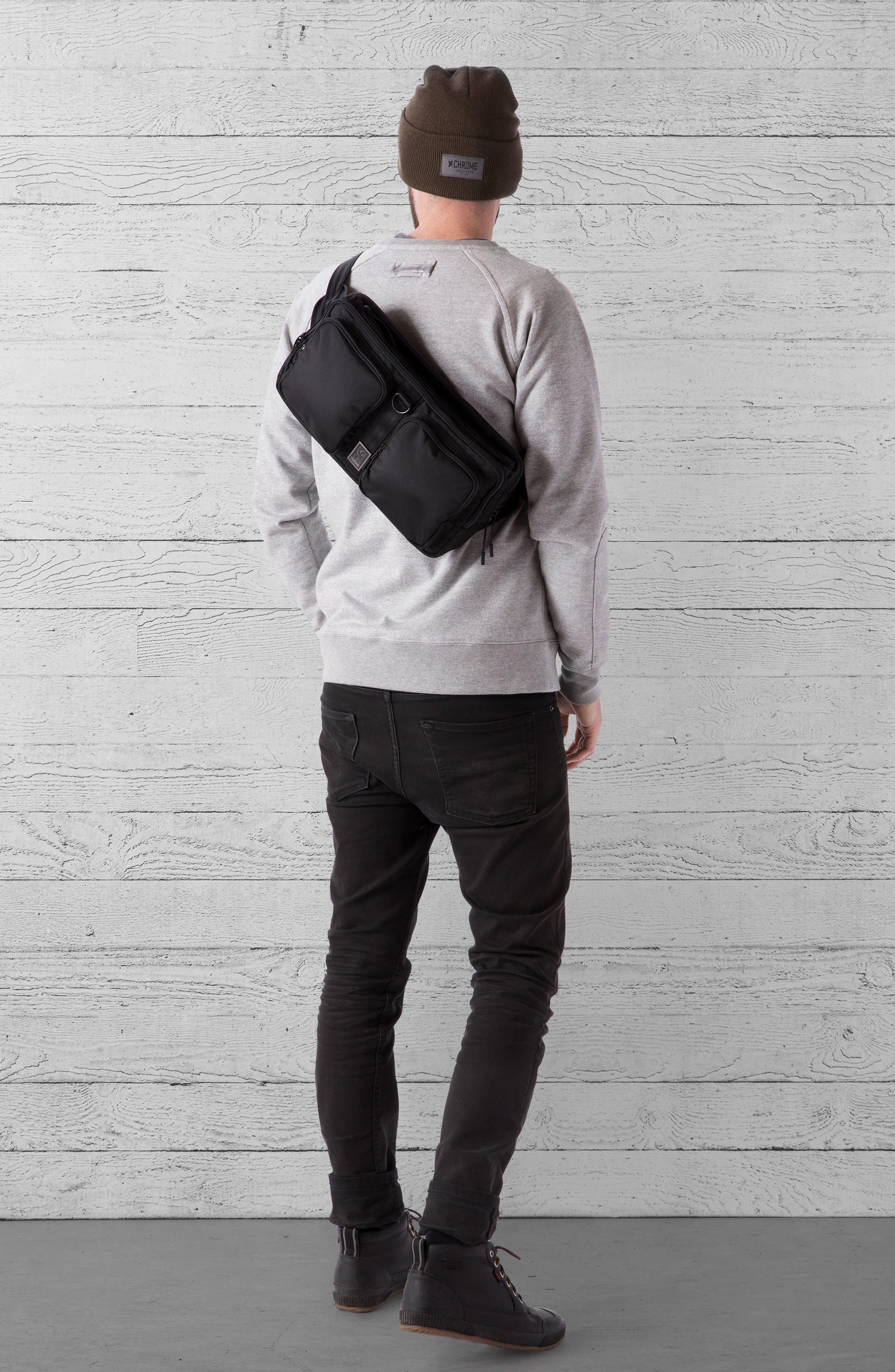 MXD Segment Sling Bag,                             Alternate thumbnail 10, color,                             ALL BLACK