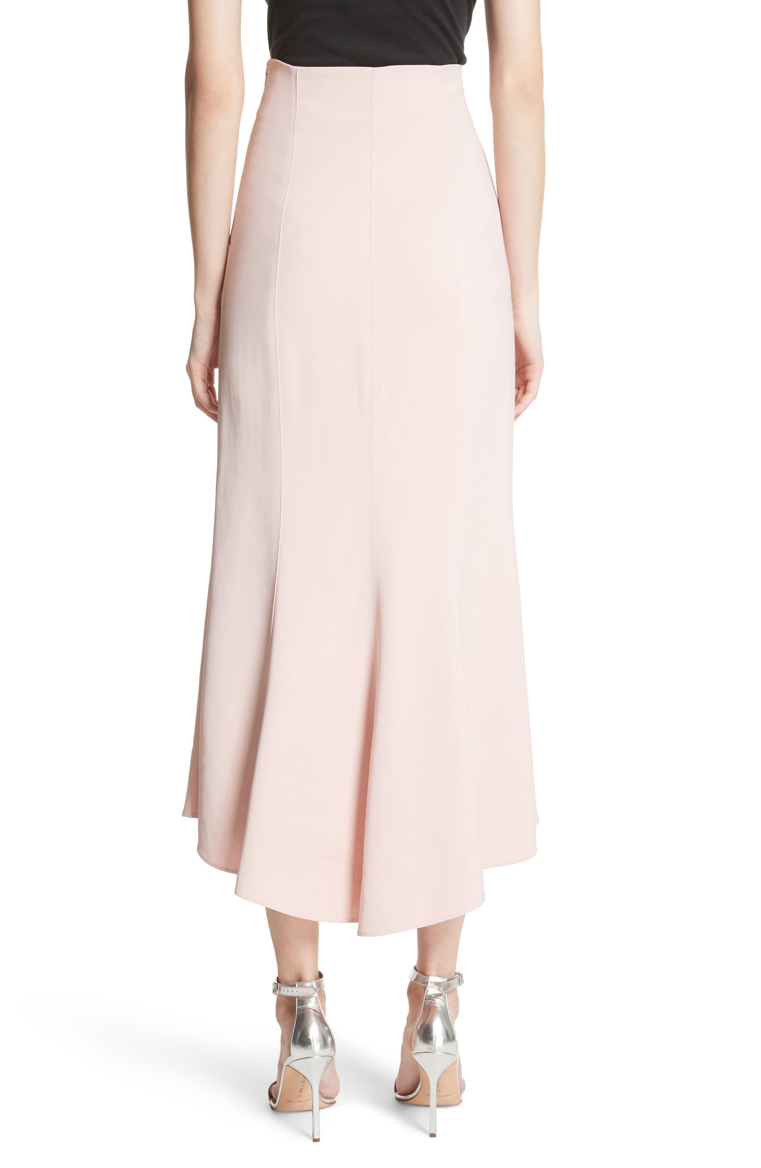 High Waist Midi Skirt,                             Alternate thumbnail 2, color,                             657