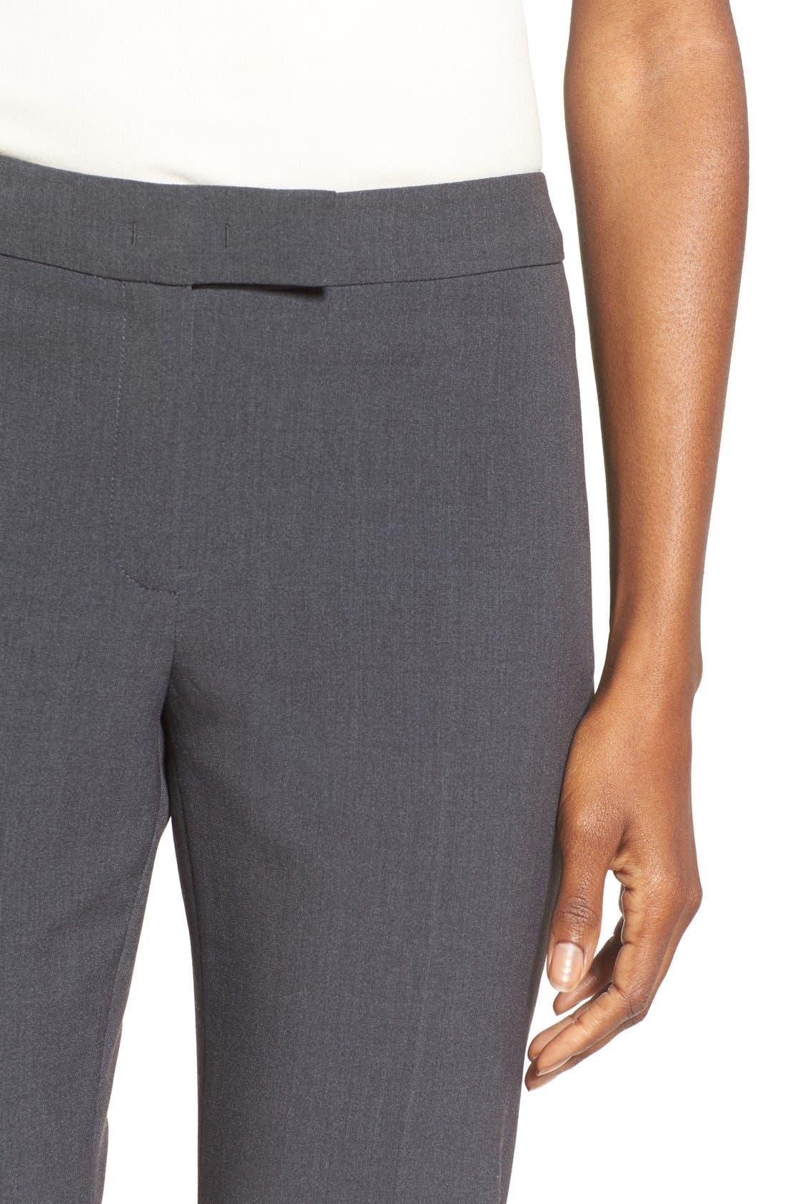 Slim Suit Pants,                             Alternate thumbnail 4, color,                             NEW GREY