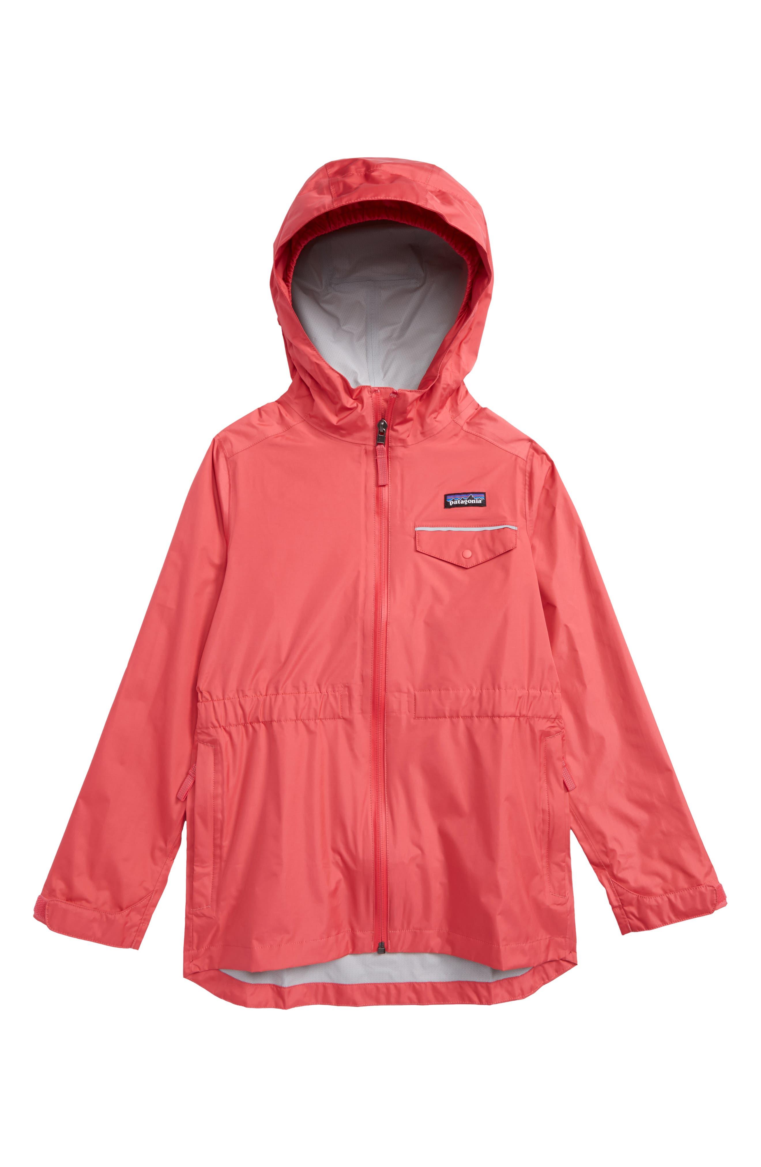 Girls Patagonia Torrentshell Jacket Size XXL (1618)  Pink
