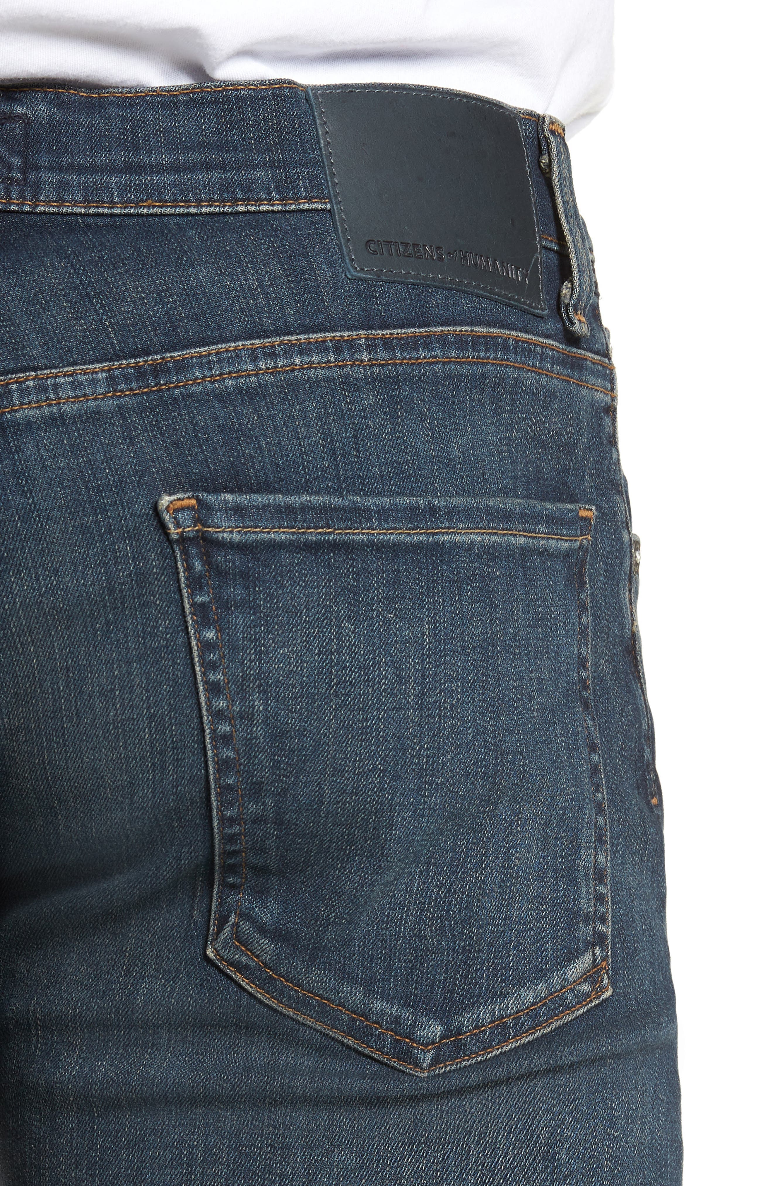 PERFORM - Bowery Slim Fit Jeans,                             Alternate thumbnail 4, color,                             424