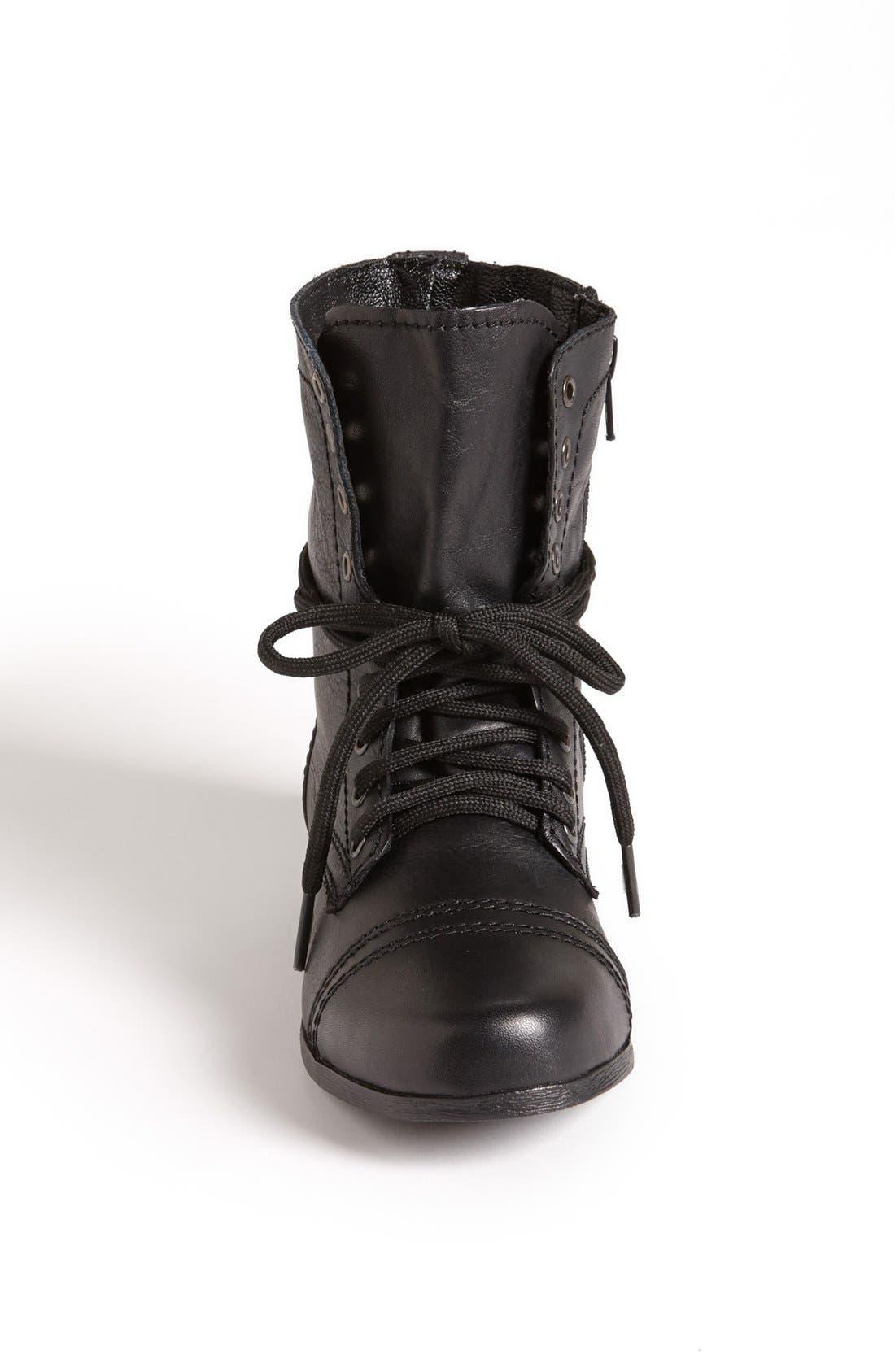 'Troopa' Boot,                             Alternate thumbnail 4, color,                             BLACK