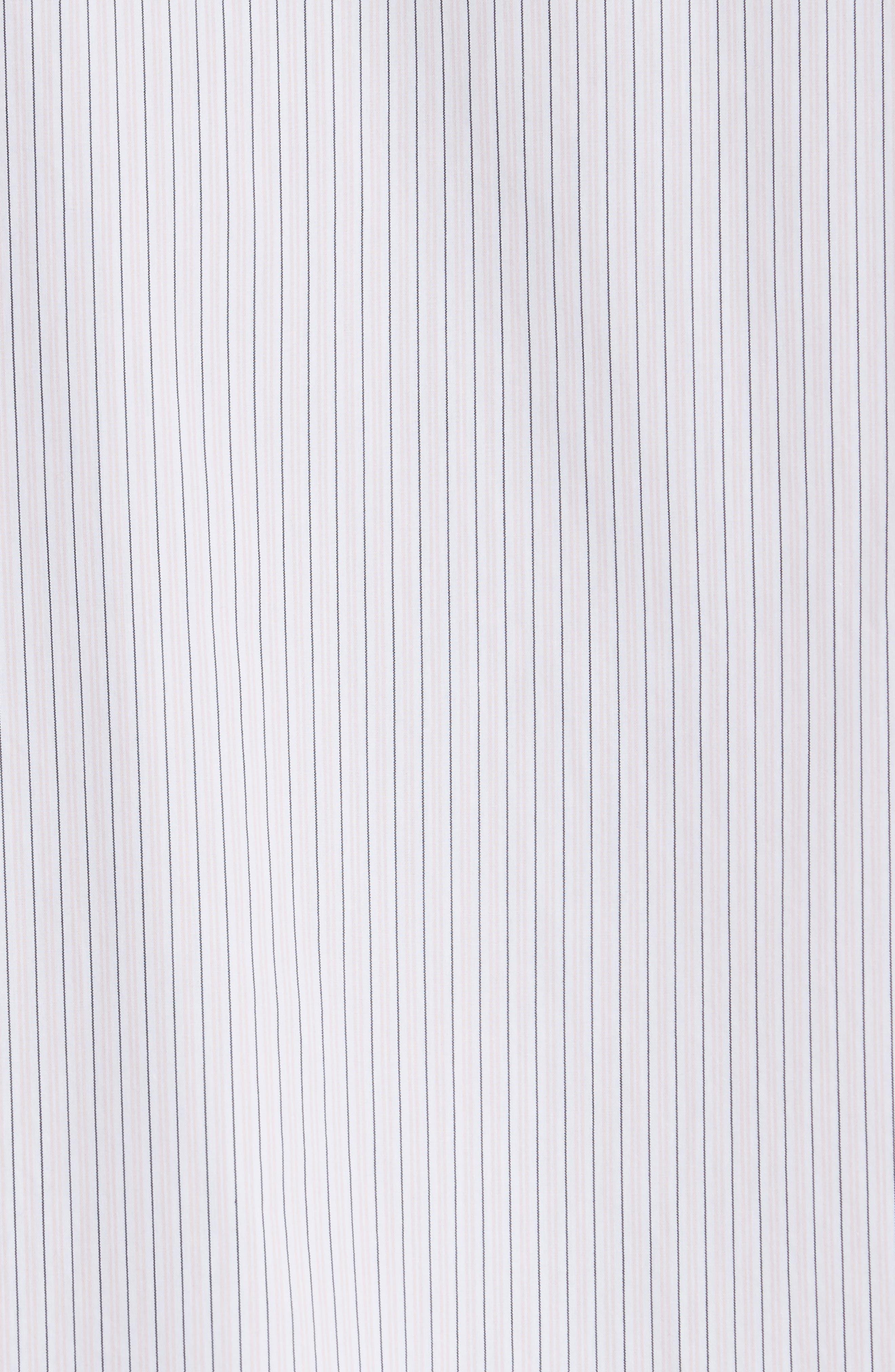 Crane Stripe Woven Shirt,                             Alternate thumbnail 5, color,                             630