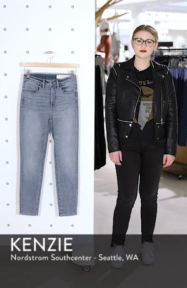 Charity High Waist Crop Skinny Jeans, sales video thumbnail