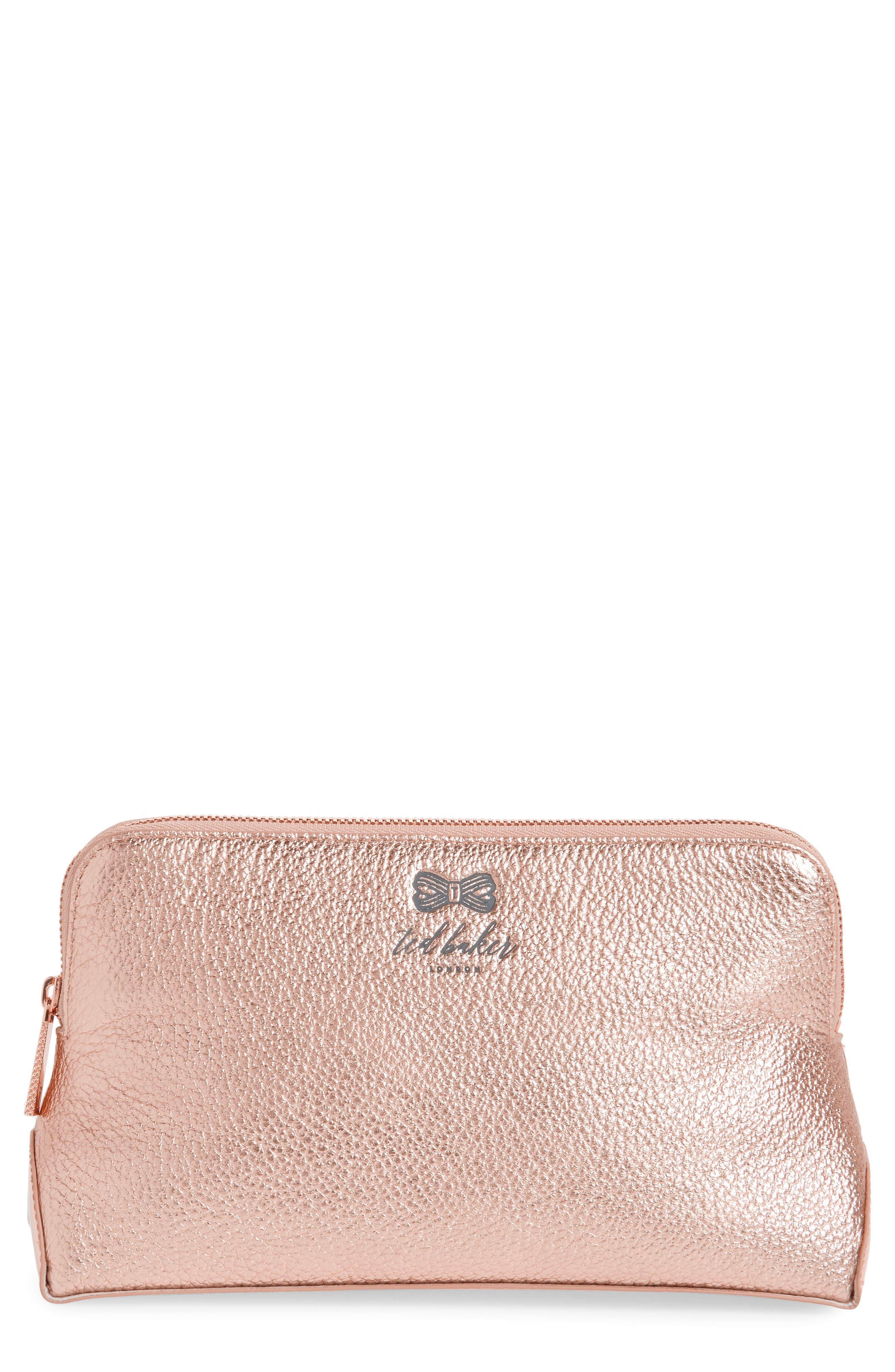 Pescara Makeup Bag,                         Main,                         color, 658