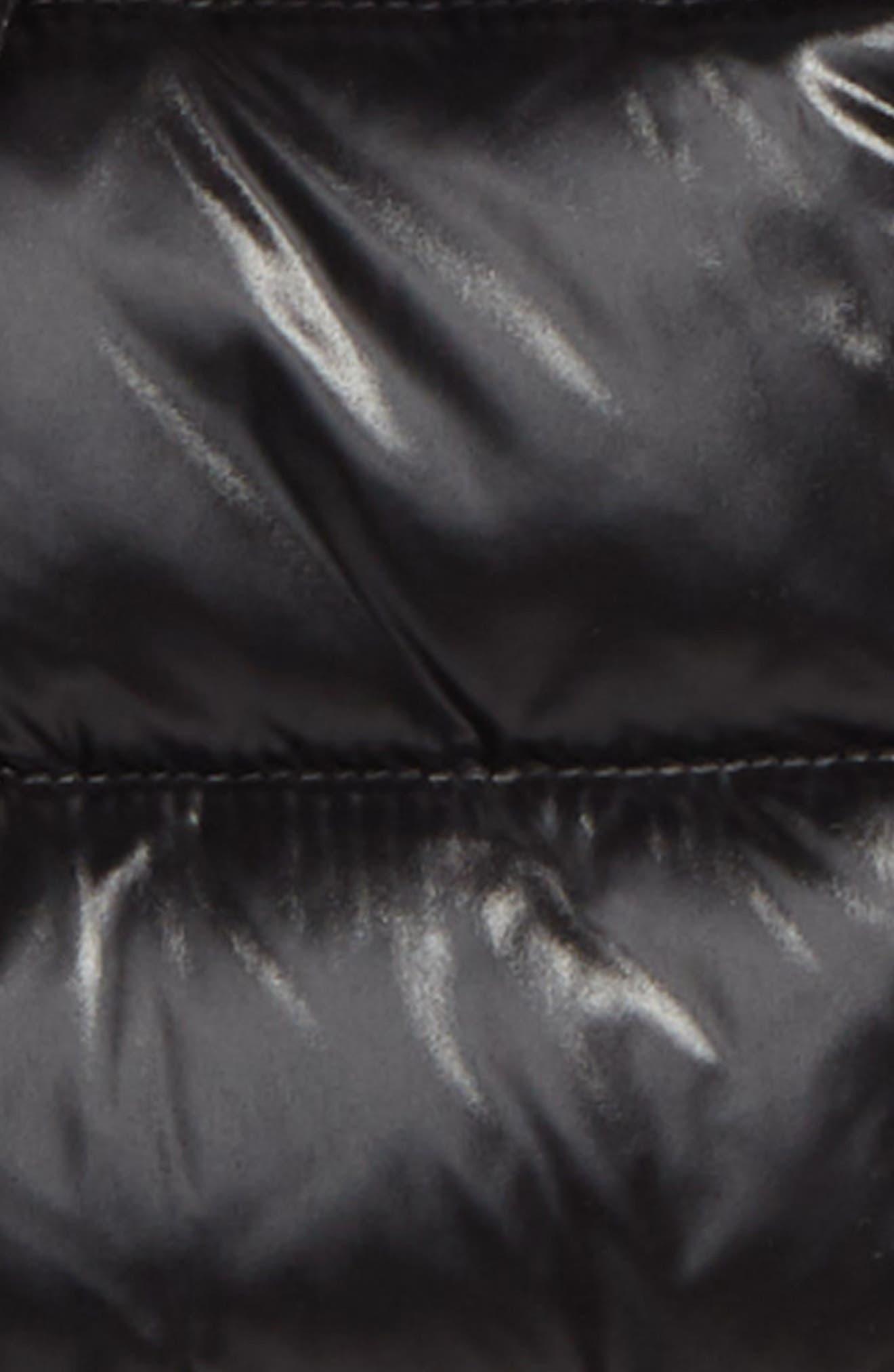 Maya Hooded Down Jacket,                             Alternate thumbnail 2, color,                             BLACK