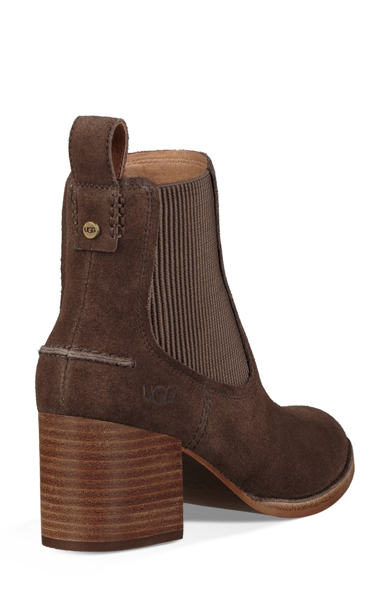 Faye Chelsea Bootie,                             Alternate thumbnail 2, color,                             MYSTERIOUS SUEDE