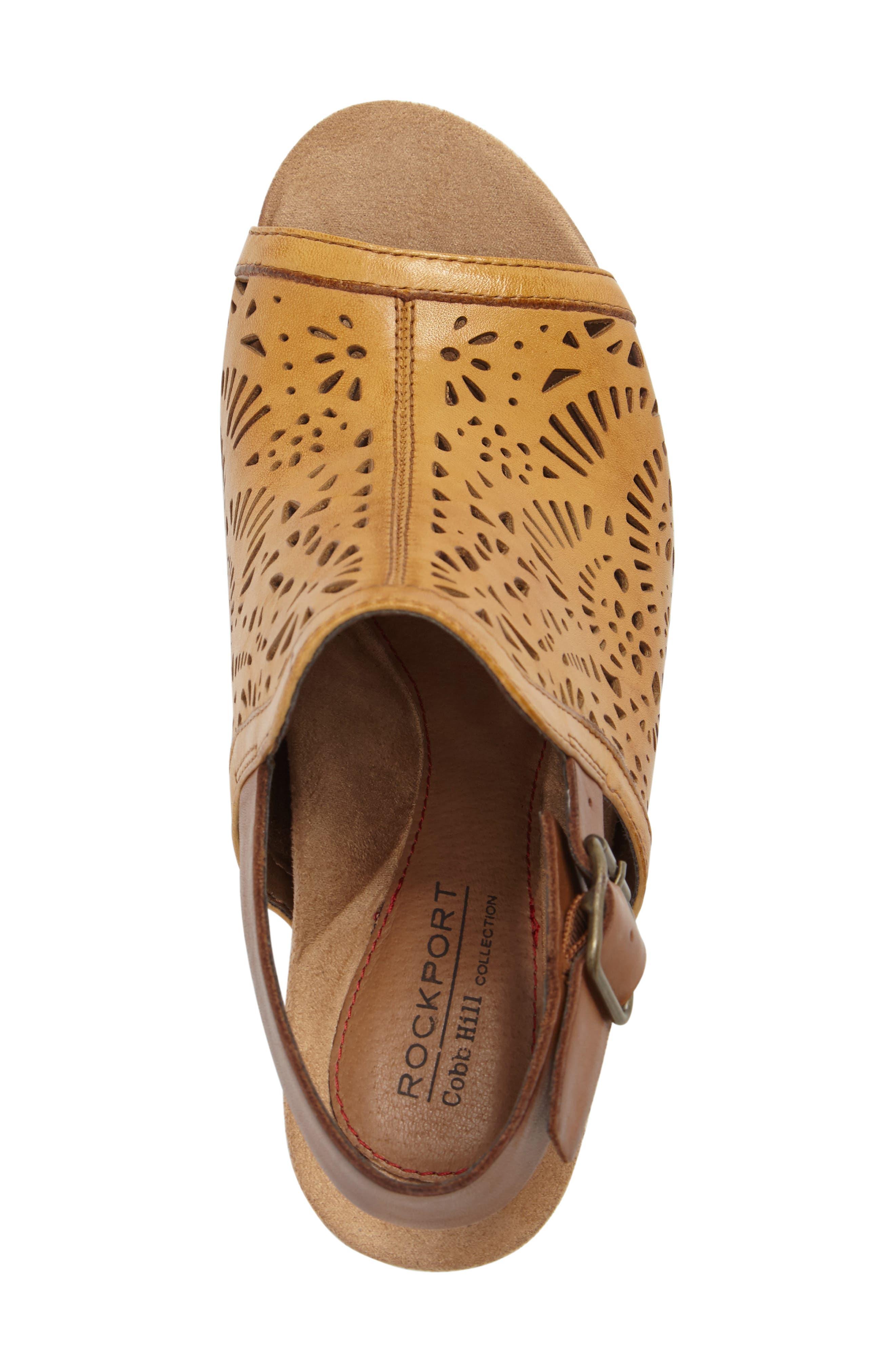 Tropez Block Heel Sandal,                             Alternate thumbnail 18, color,