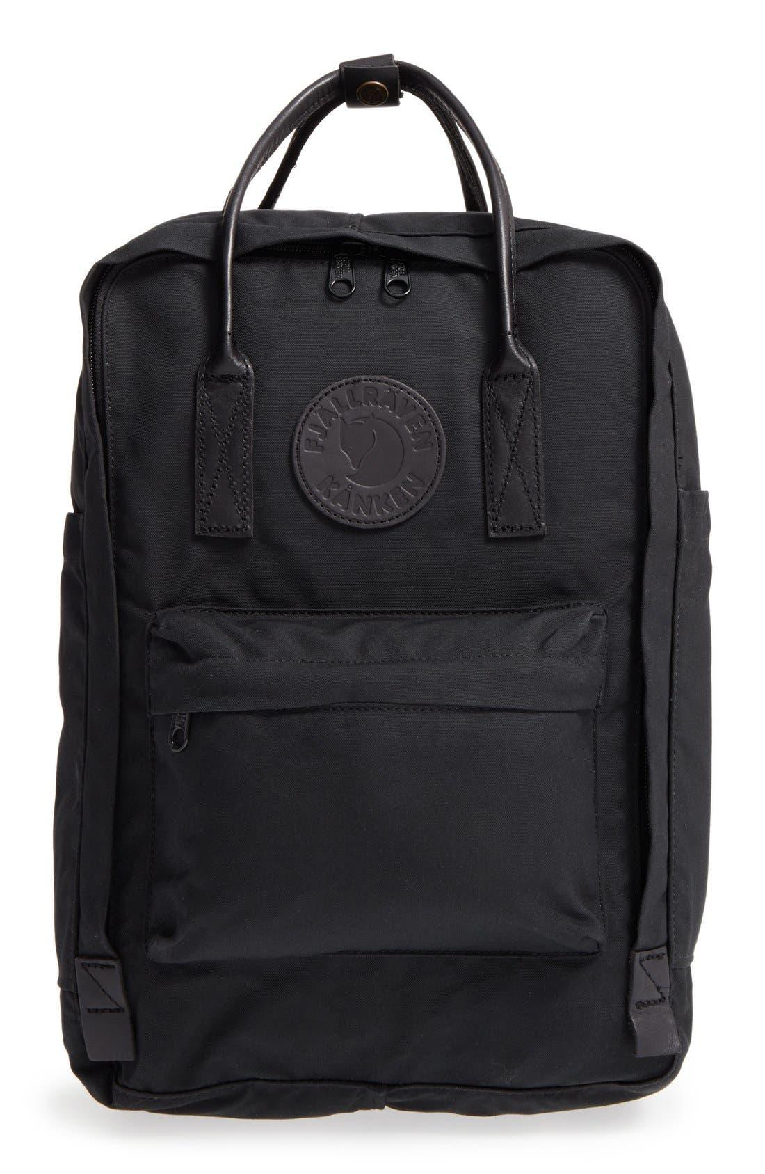 Kånken No. 2 Laptop Backpack,                             Main thumbnail 1, color,                             BLACK