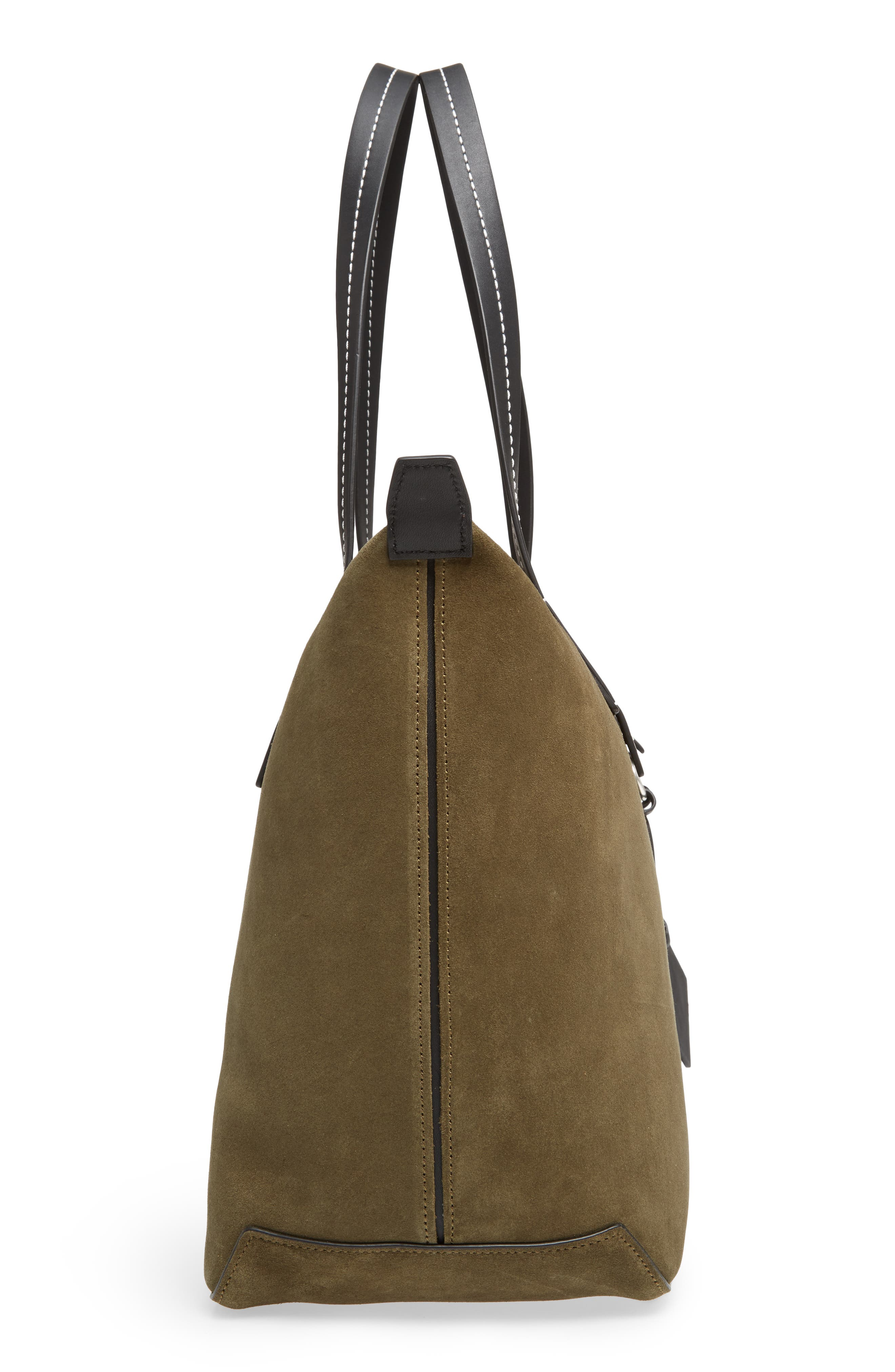 Compass Everyday Suede Tote,                             Alternate thumbnail 5, color,