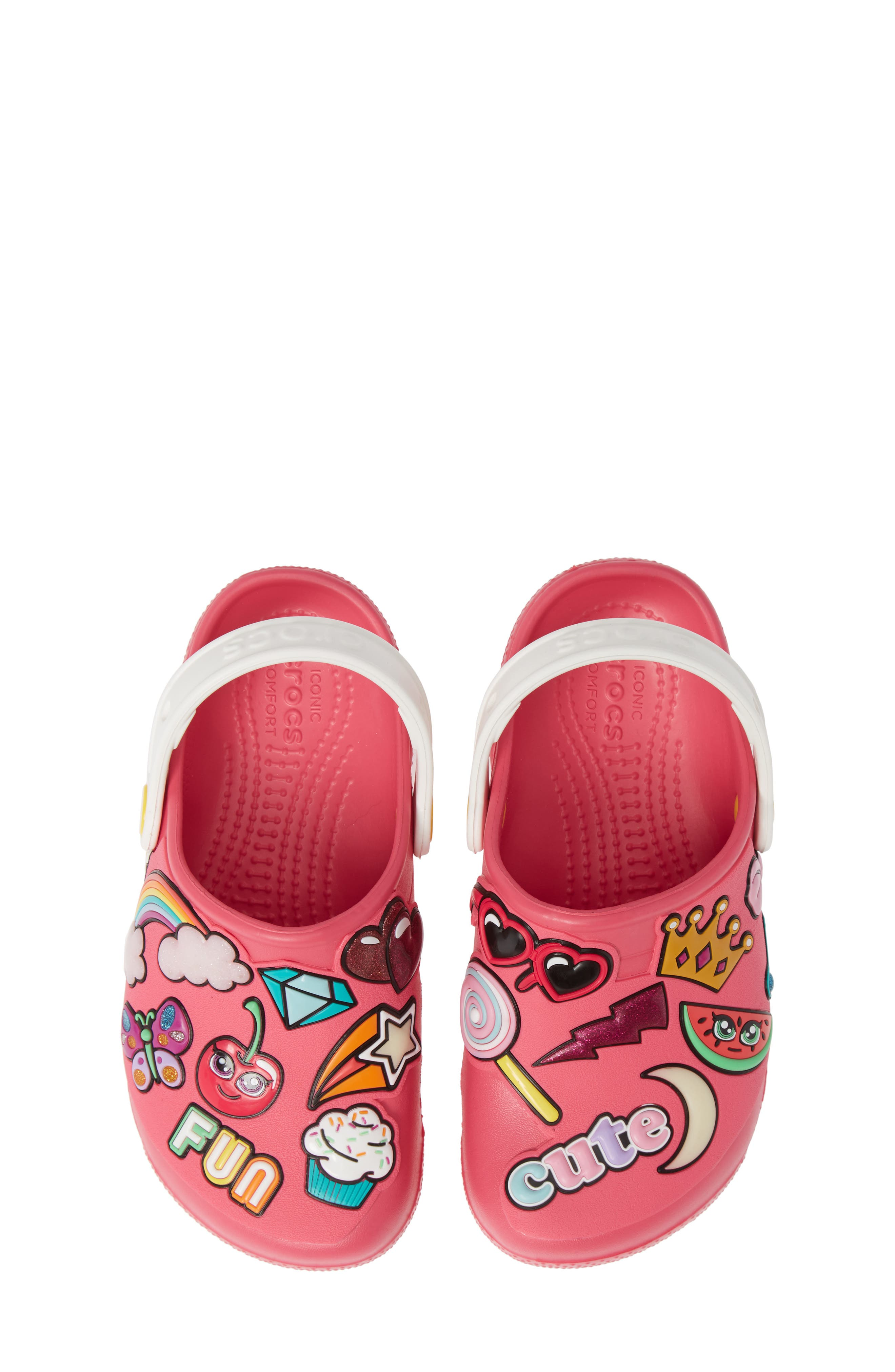 Playful Patches Slip-On,                         Main,                         color, PARADISE PINK