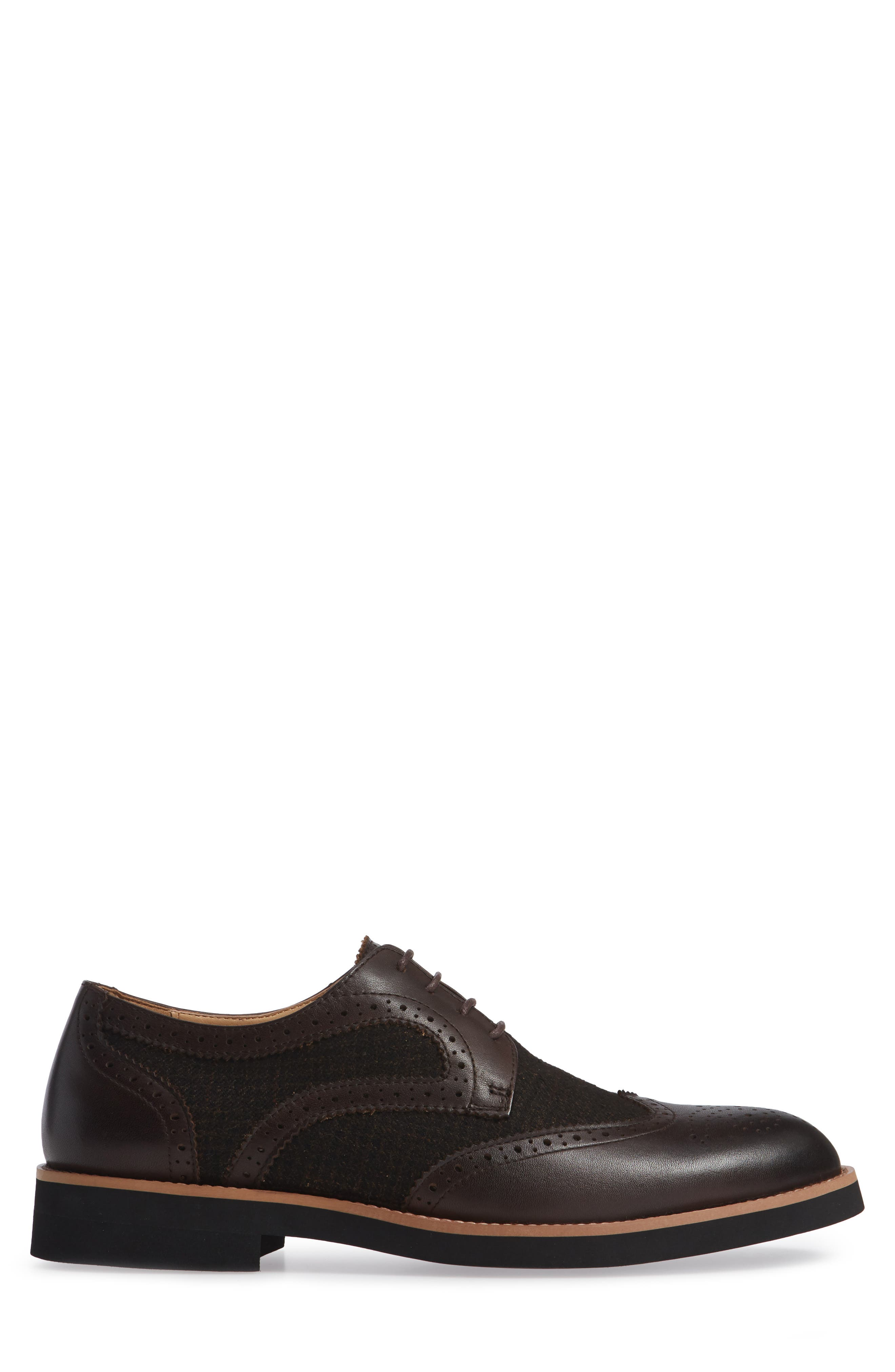 Bolton Wingtip,                             Alternate thumbnail 3, color,                             BROWN
