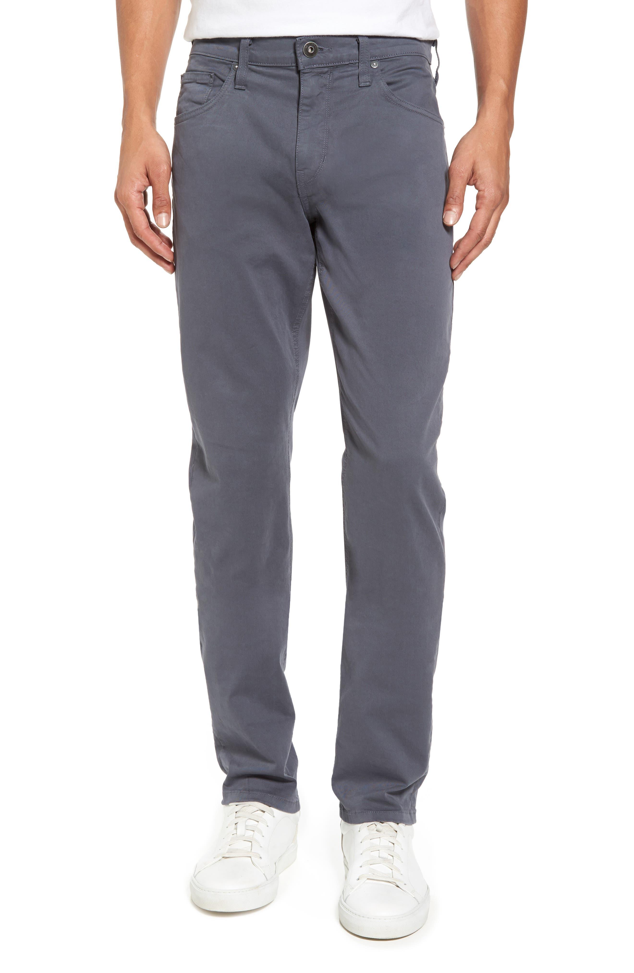 Federal Slim Straight Leg Twill Pants,                         Main,                         color, MOON SHADE