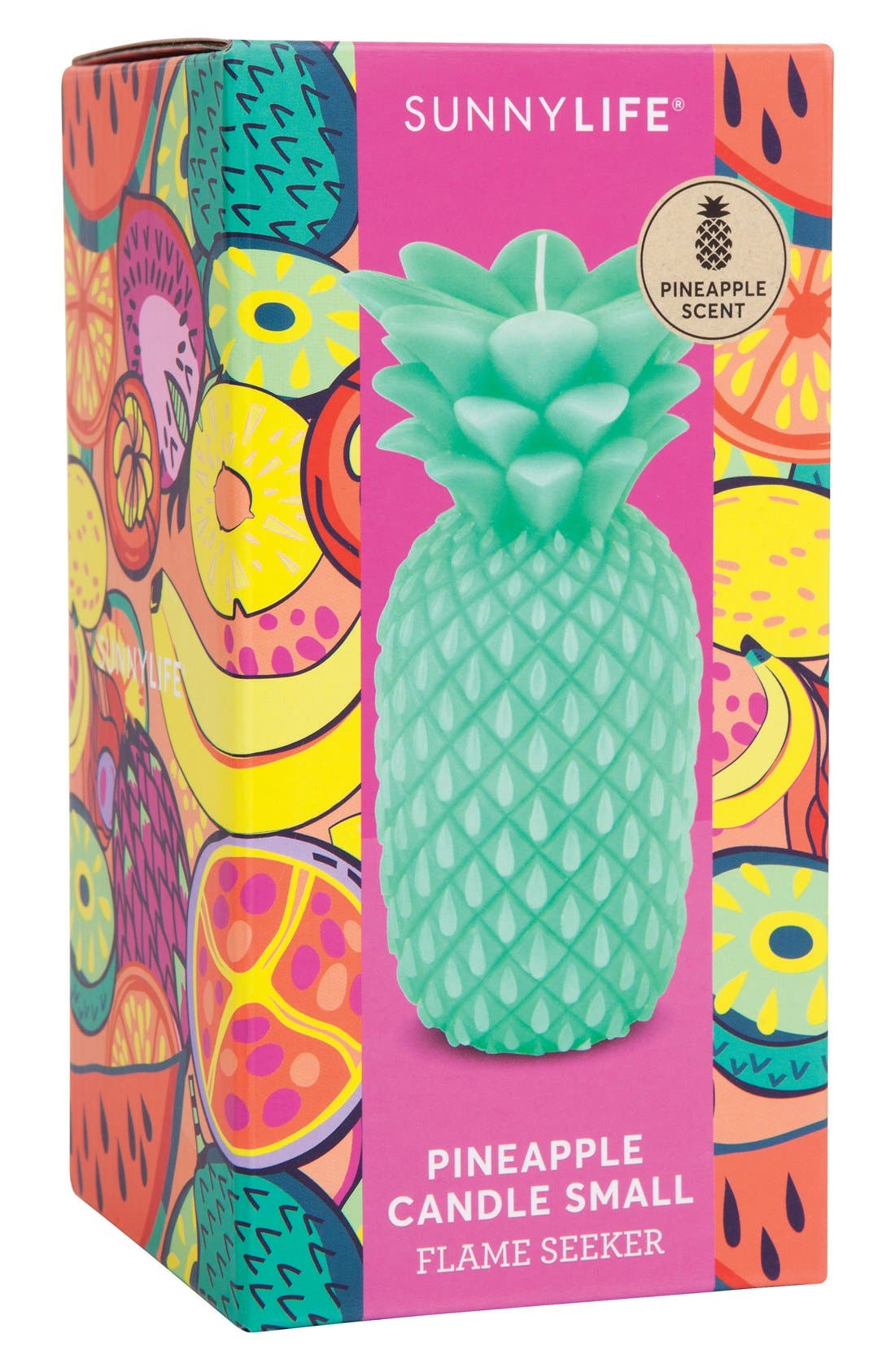 Pineapple Candle,                             Alternate thumbnail 3, color,                             440