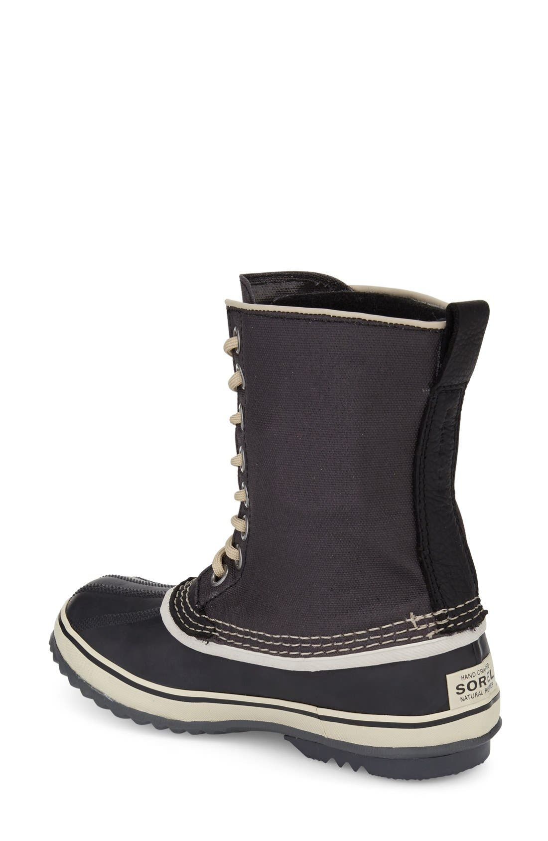 '1964 Premium' Waterproof Boot,                             Alternate thumbnail 3, color,                             BLACK/ FOSSIL