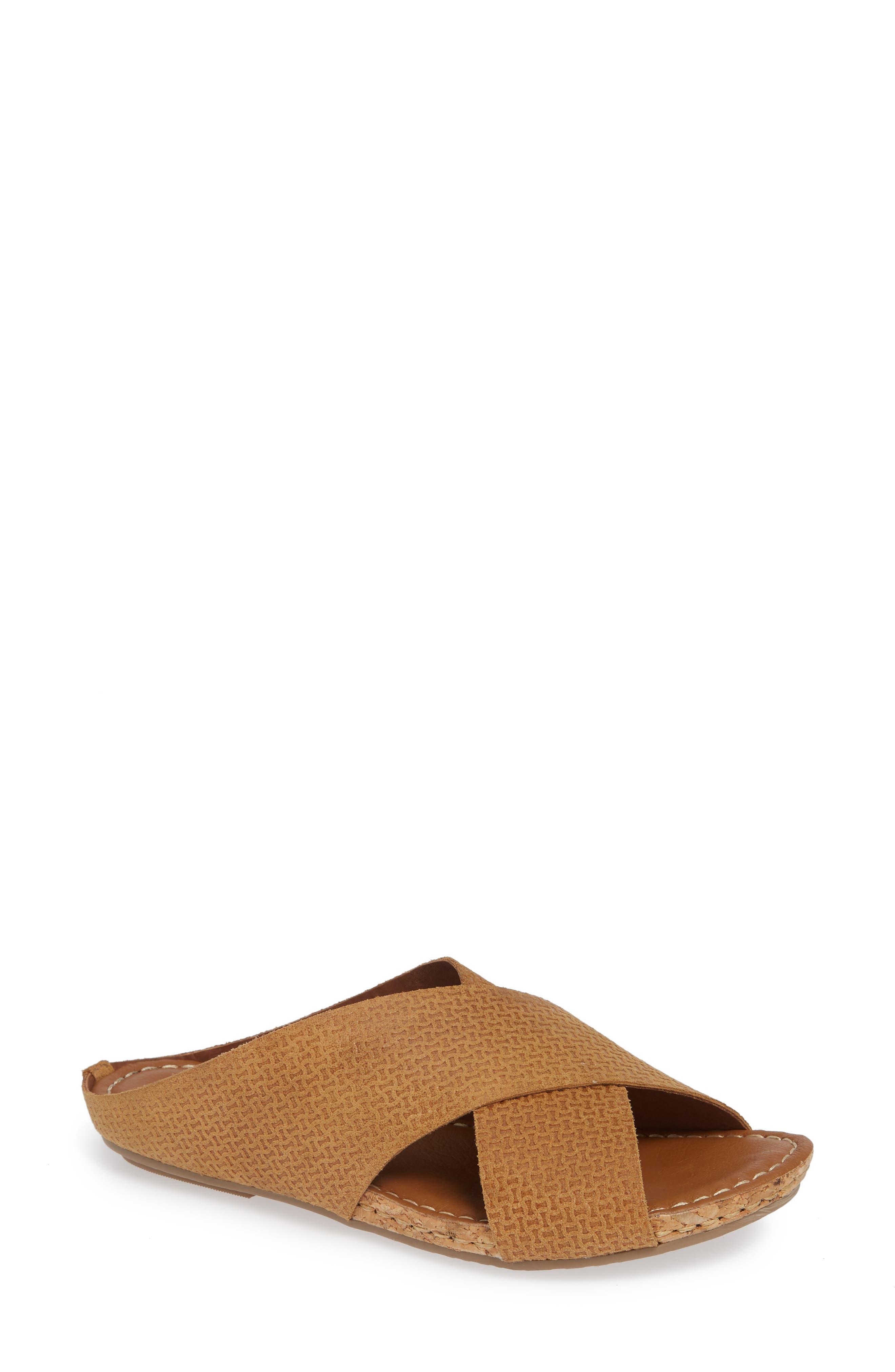 Klub Nico Gricia Slide Sandal, Brown