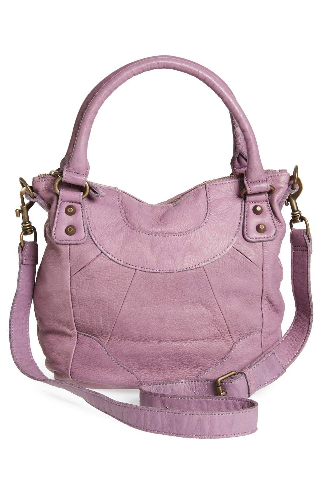 'Vintage Gina' Soft Leather Handbag,                             Alternate thumbnail 2, color,                             500