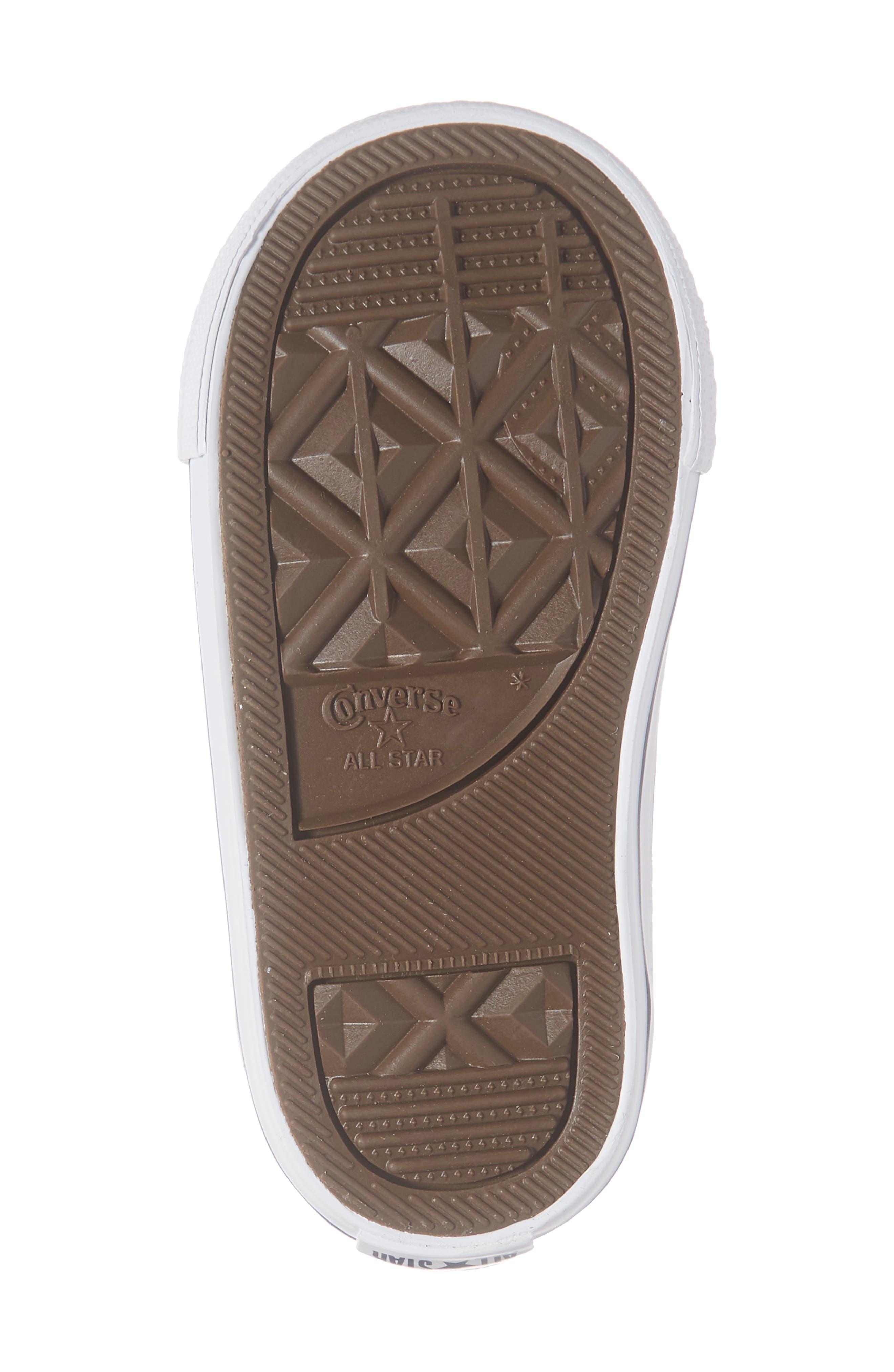 All Star<sup>®</sup> Seasonal Glitter Sneaker,                             Alternate thumbnail 6, color,                             050