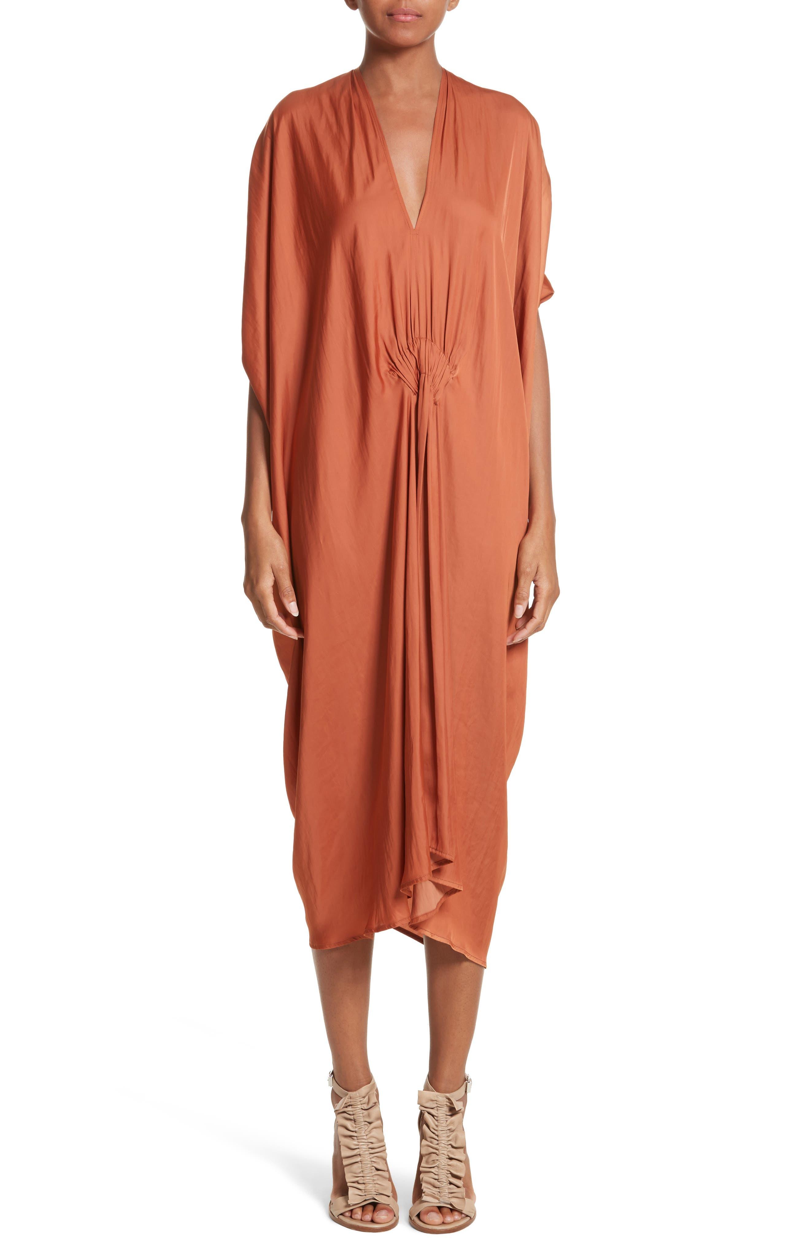 Drape Drift Dress,                             Main thumbnail 1, color,                             800