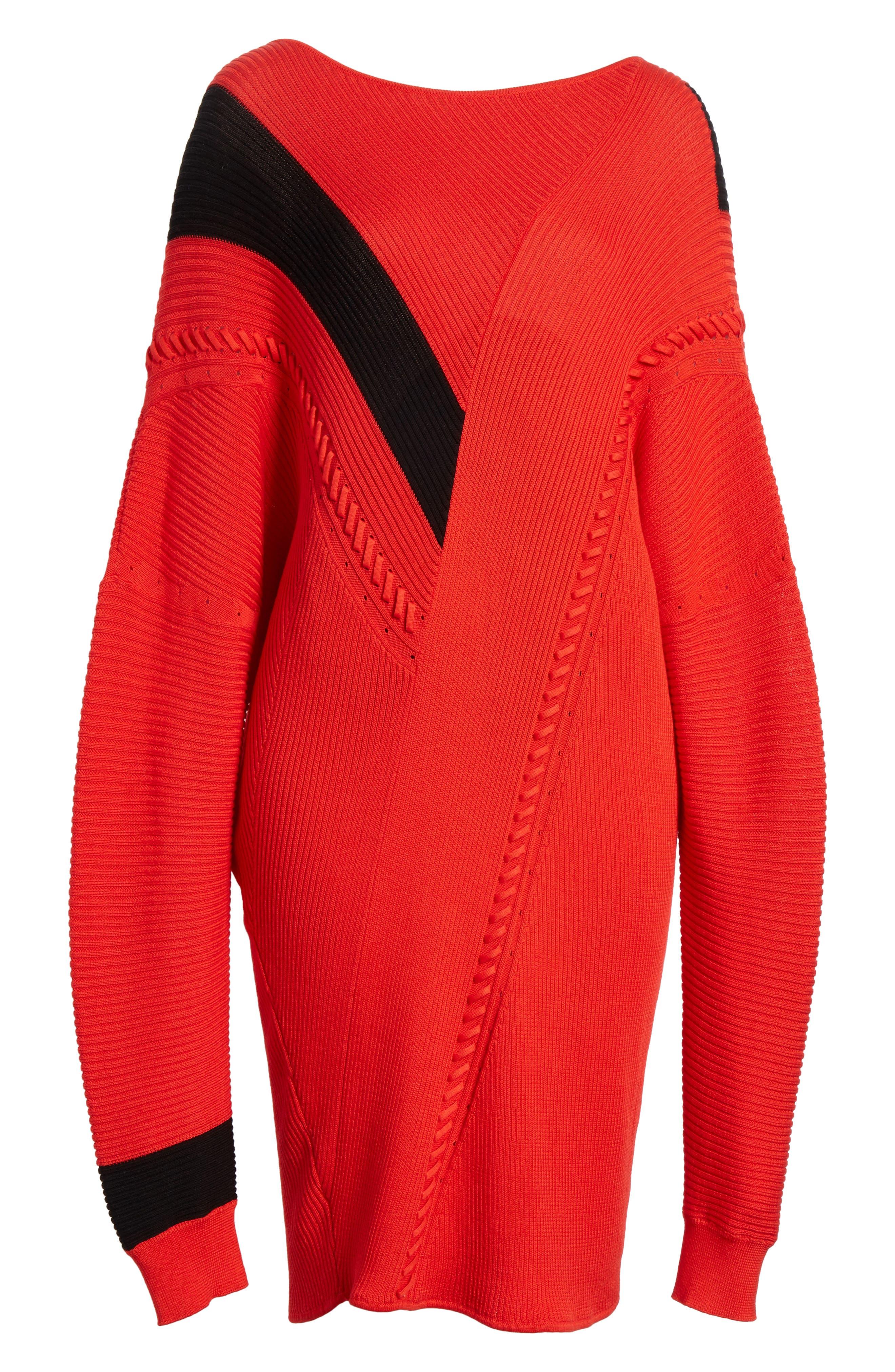Cricket Reversible Sweater Dress,                             Alternate thumbnail 6, color,                             600