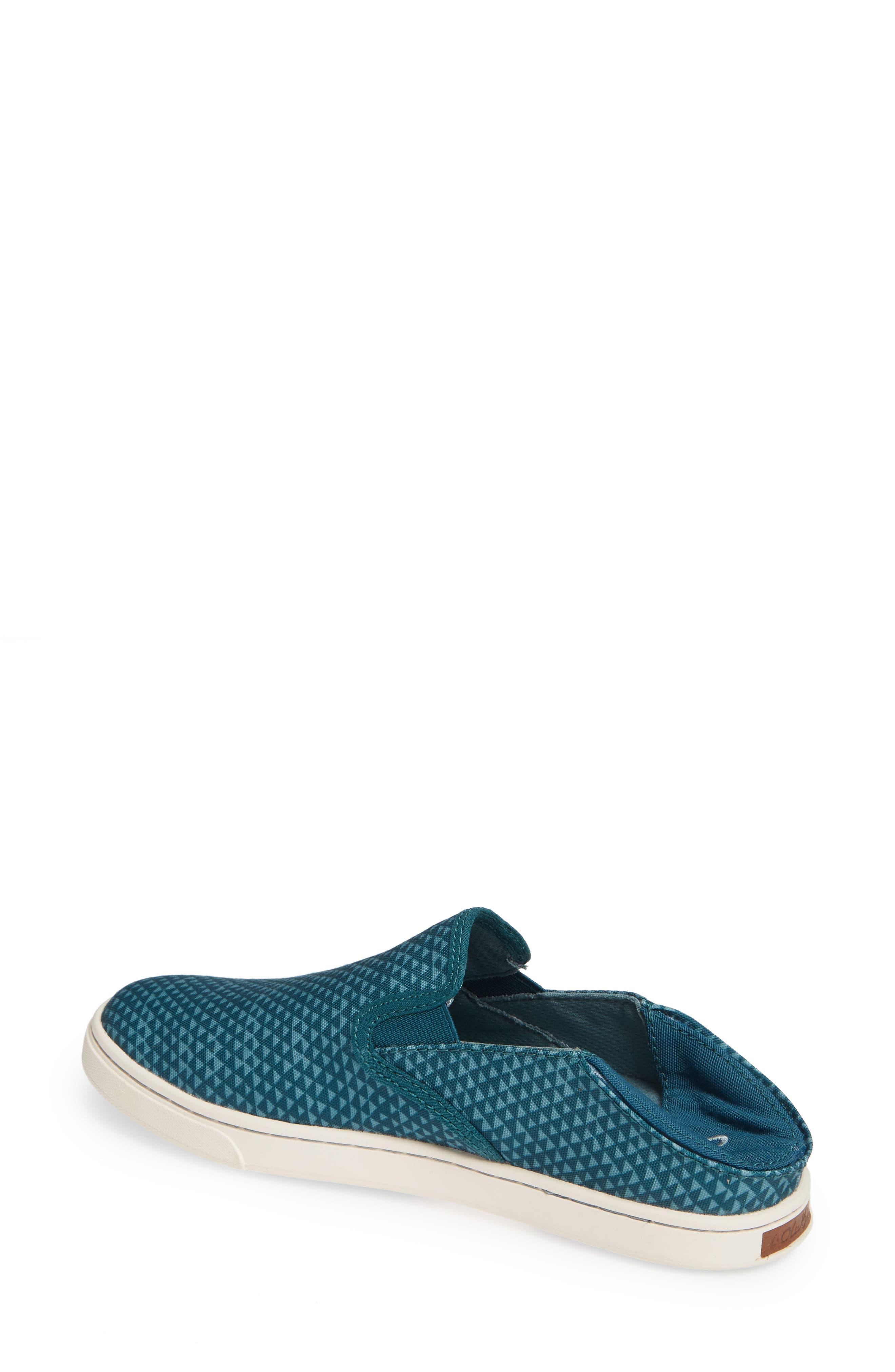 Pehuea Pa'i Convertible Sneaker,                             Alternate thumbnail 3, color,                             DEEP TEAL/ TRIANGLE FABRIC
