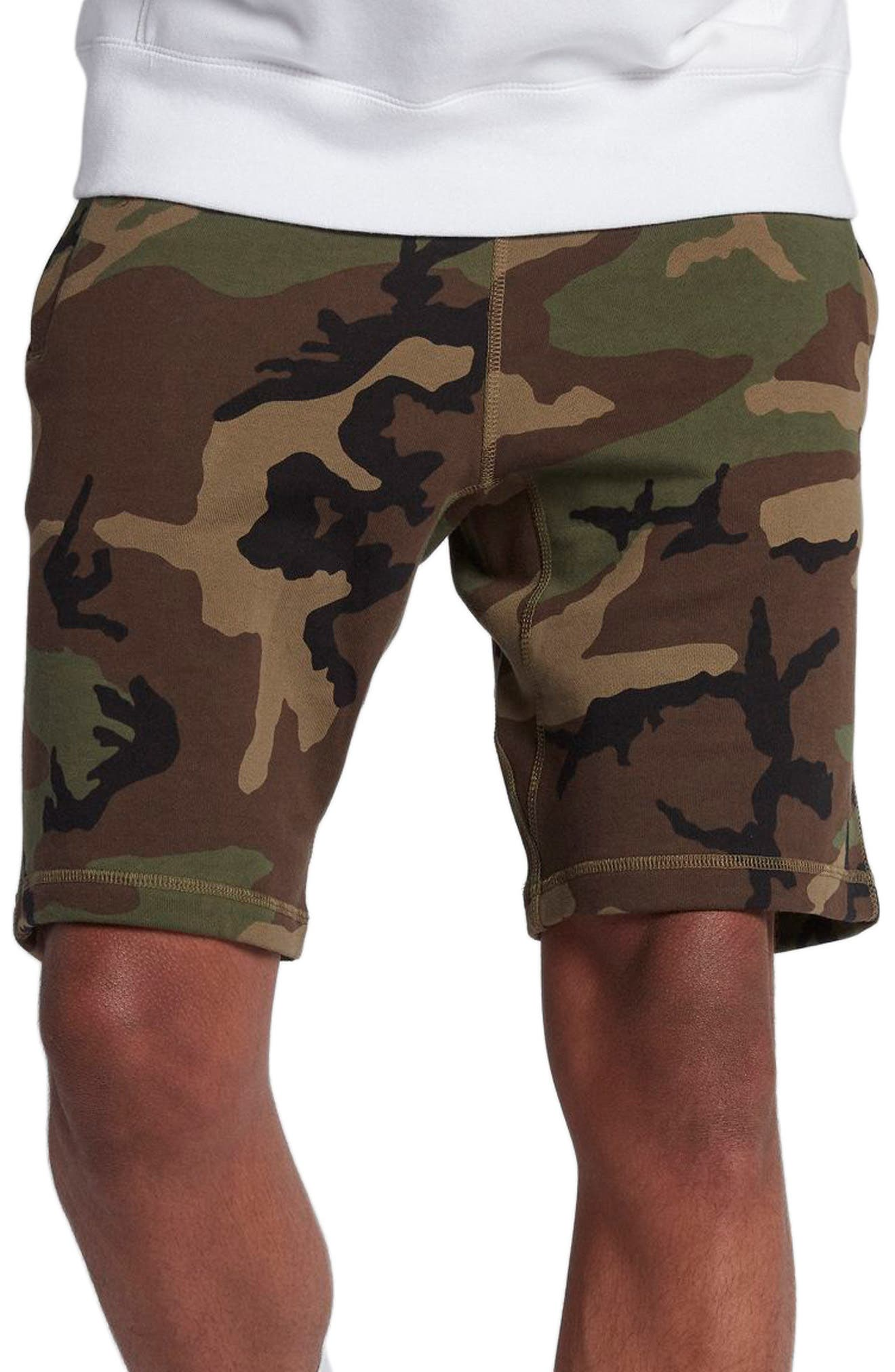 Camo Shorts,                             Main thumbnail 1, color,                             322