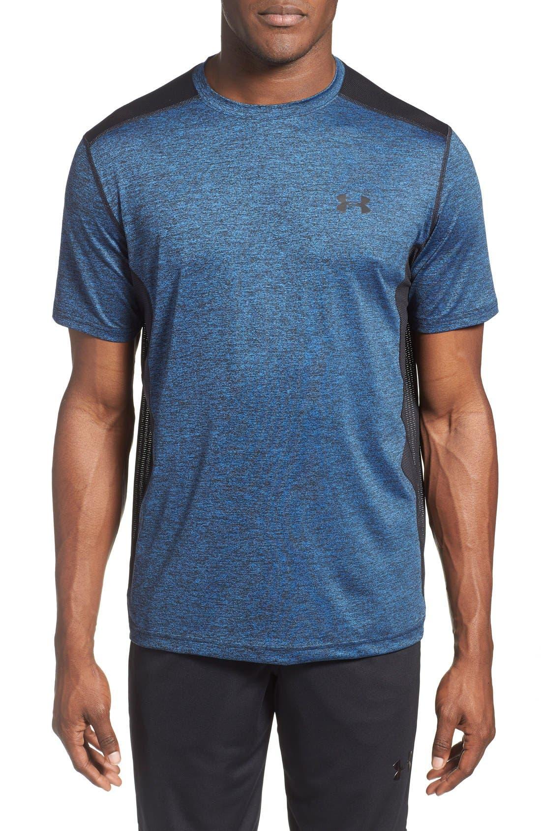'Raid' HeatGear<sup>®</sup> Training T-Shirt,                             Main thumbnail 18, color,
