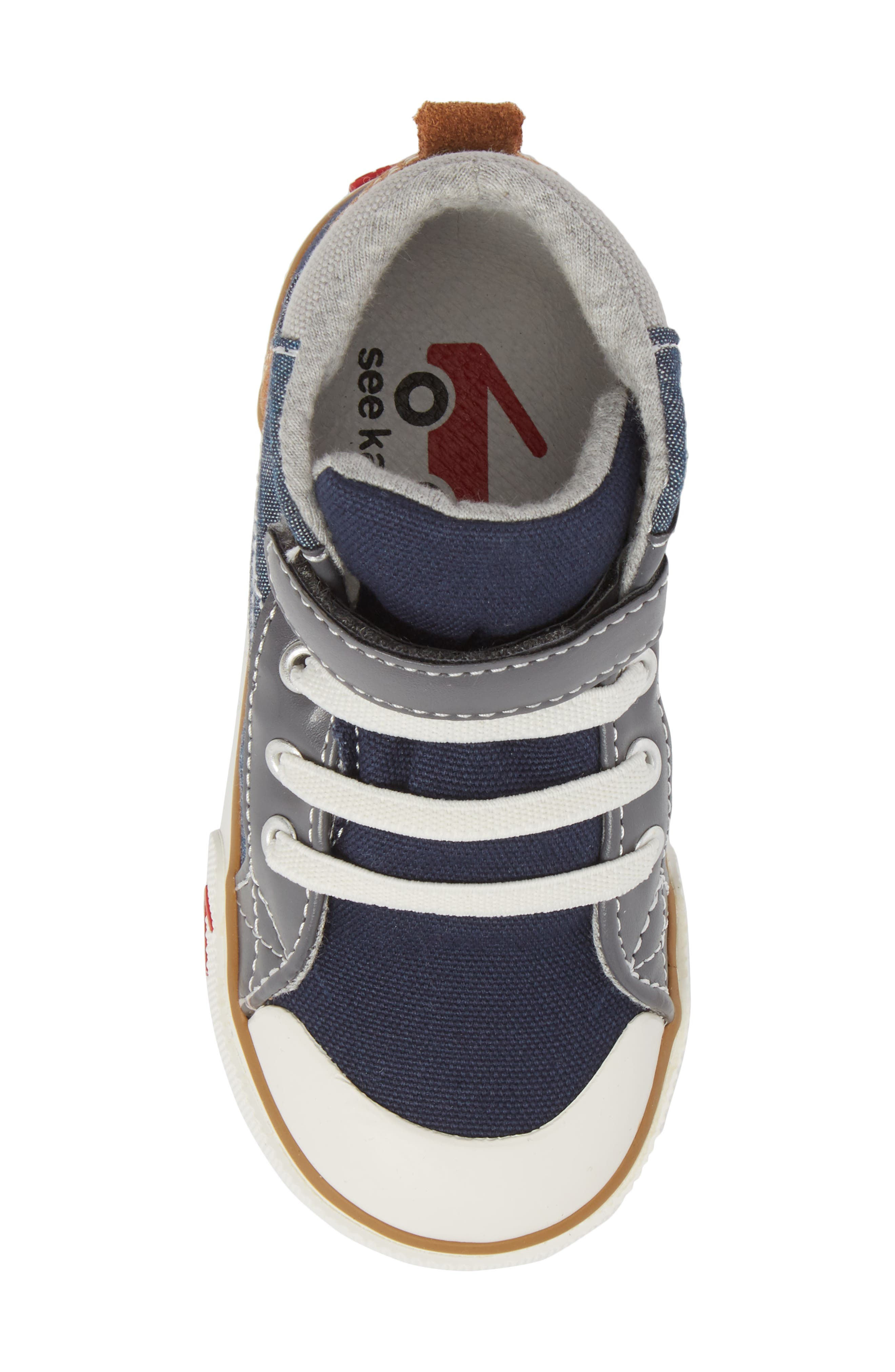 Dane Sneaker,                             Alternate thumbnail 5, color,                             CHAMBRAY MULTI