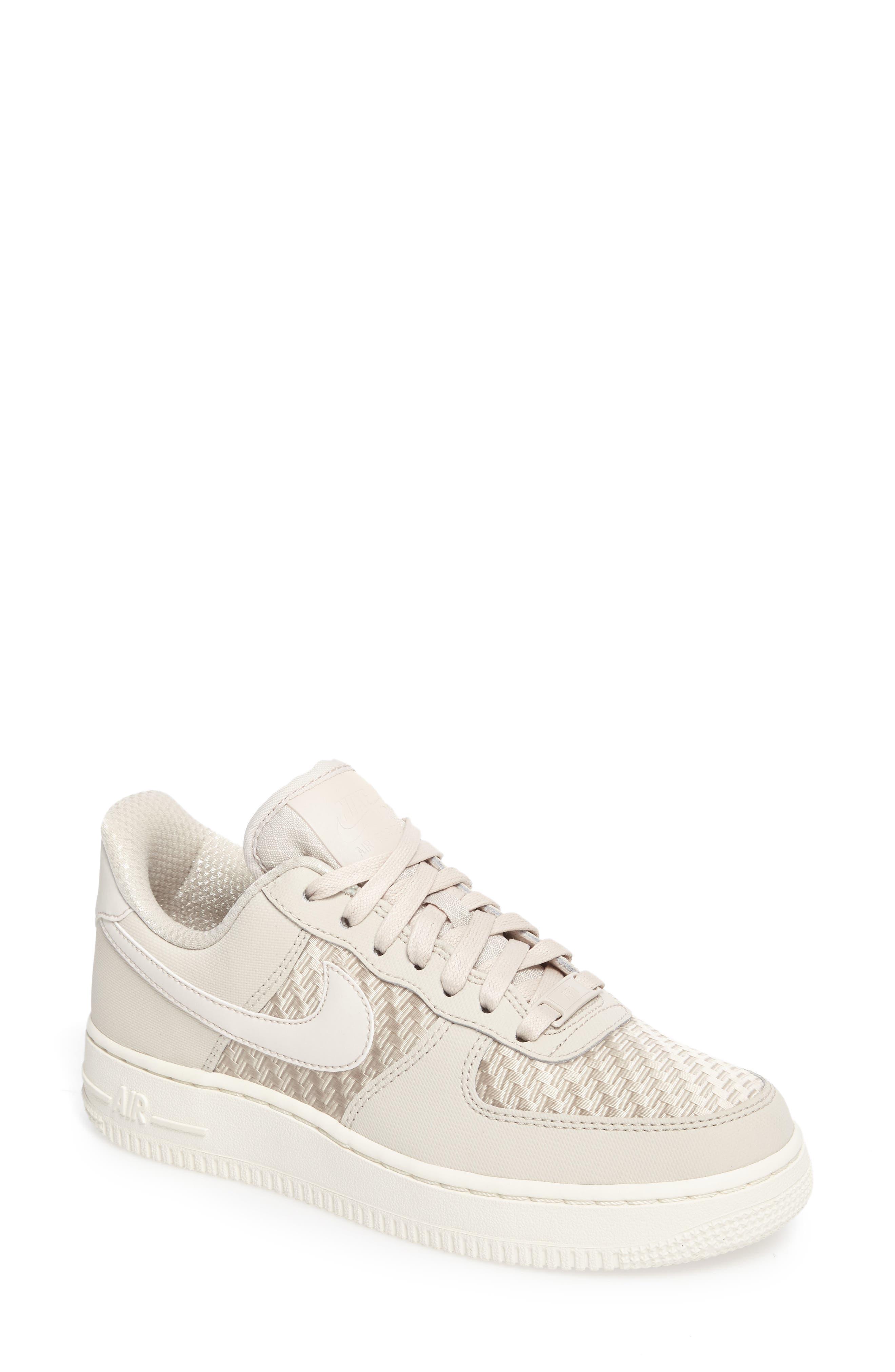 Air Force 1 '07 Pinnacle Sneaker,                             Main thumbnail 1, color,                             DESERT SAND/ DESERT SAND