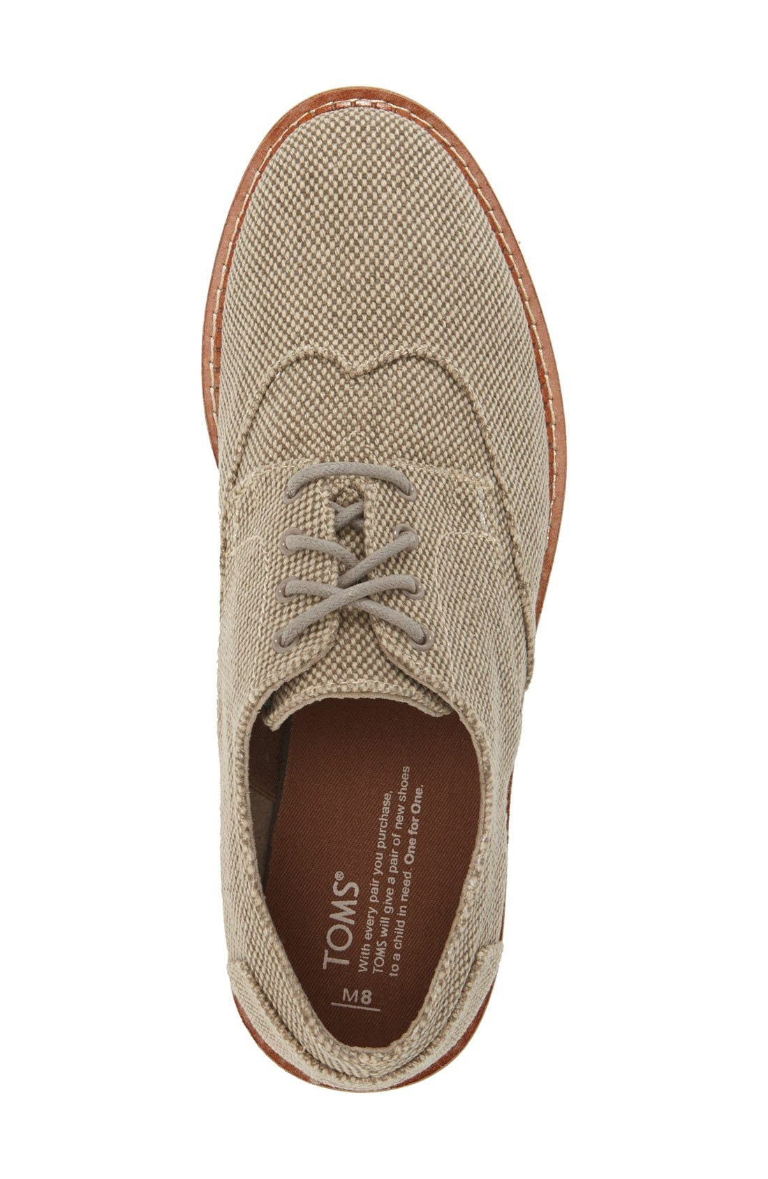 'Classic Brogue' Cotton Twill Derby,                             Alternate thumbnail 42, color,