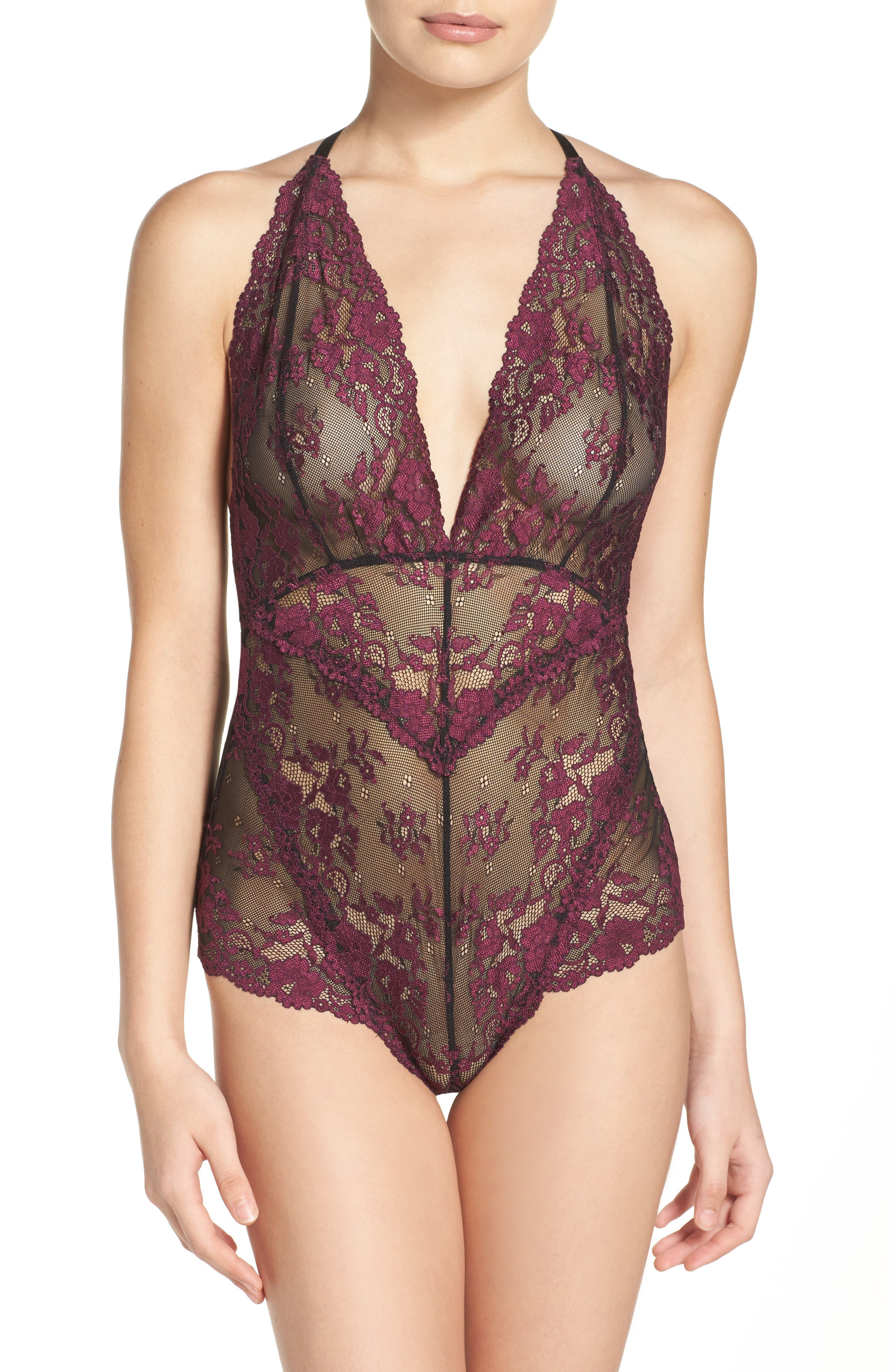 Intimately FP Too Cute to Handle Bodysuit,                             Main thumbnail 7, color,