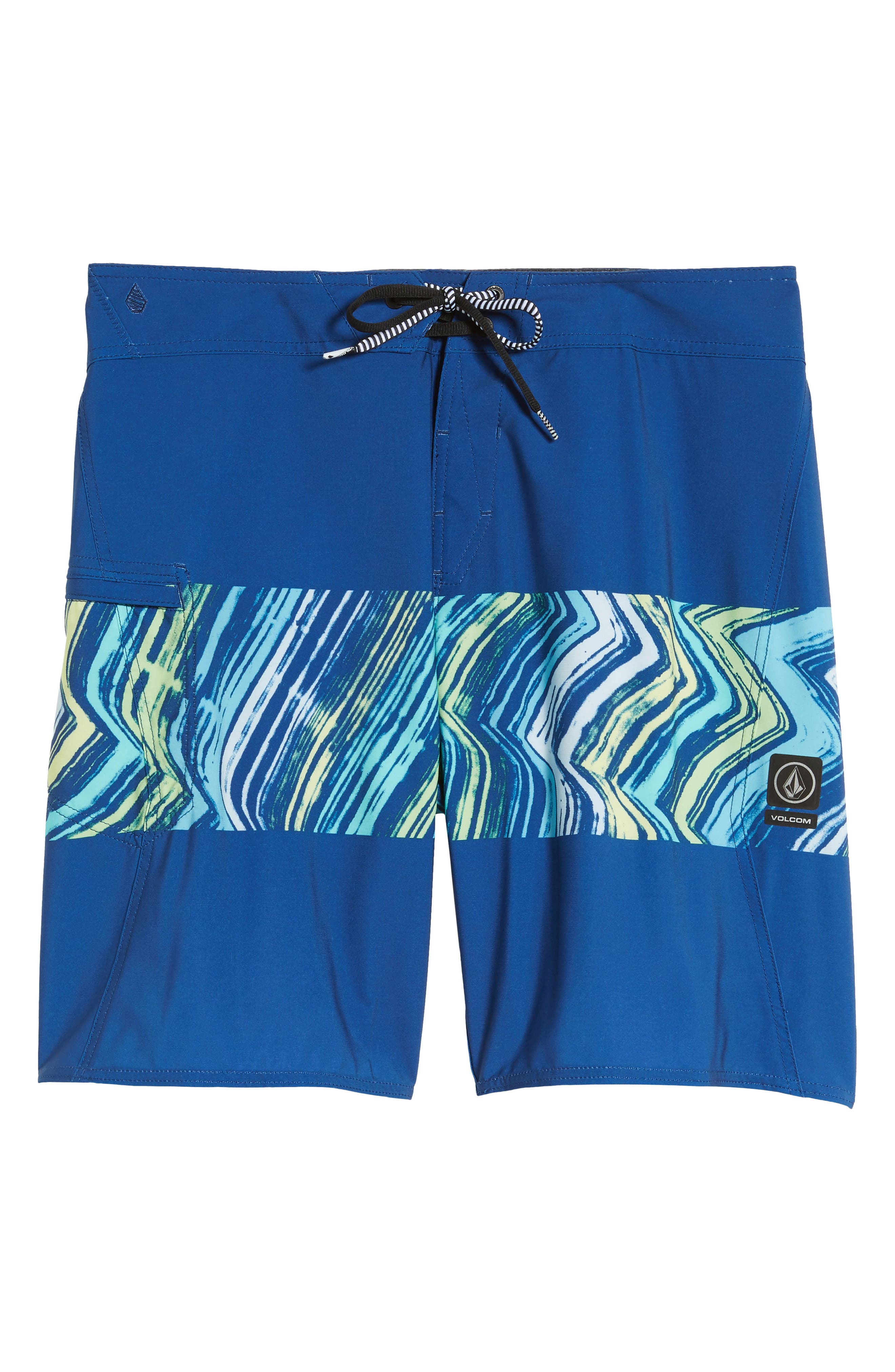 Macaw Board Shorts,                         Main,                         color, CAMPER BLUE