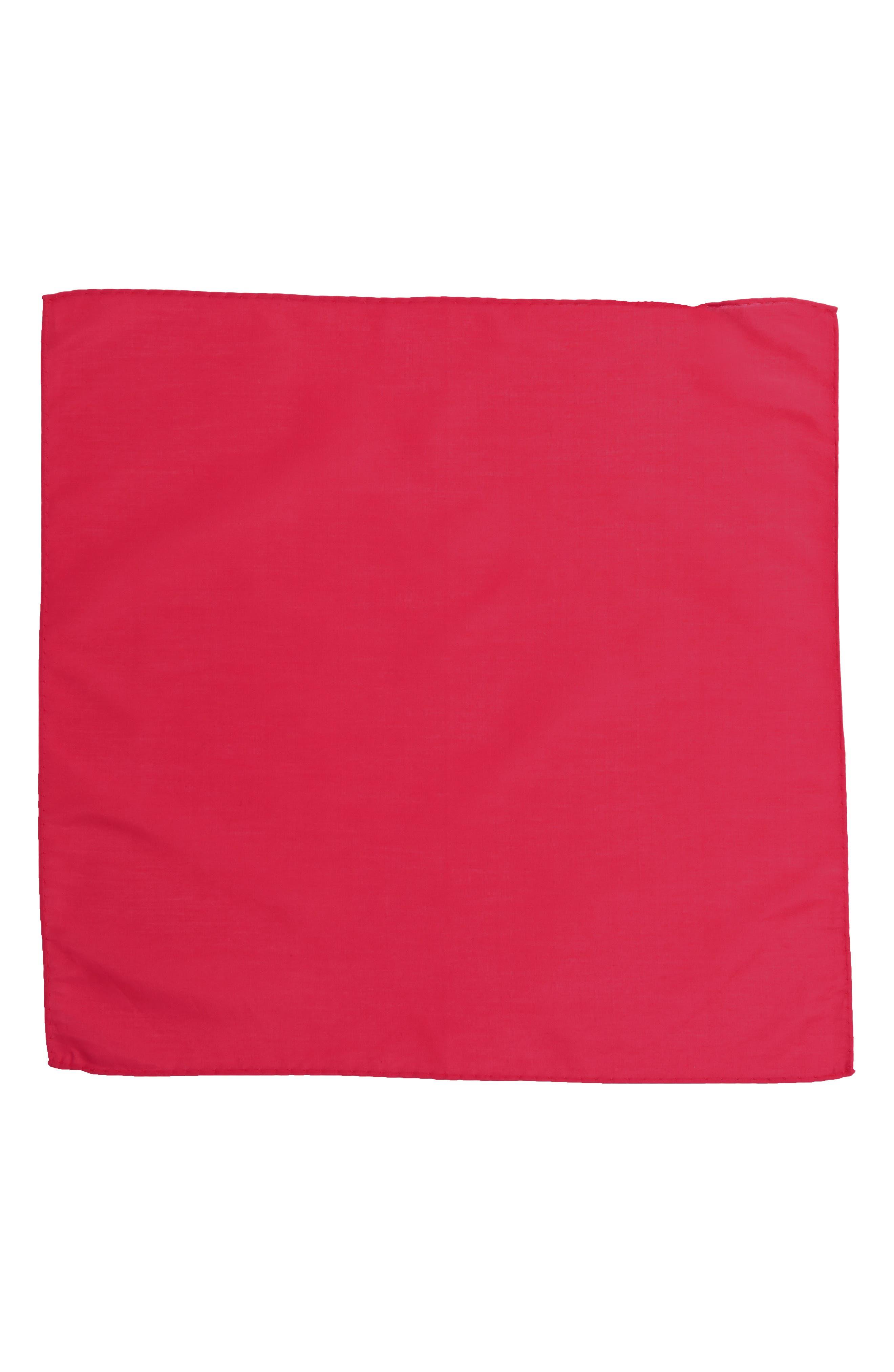 Solid Cotton & Silk Pocket Square,                             Alternate thumbnail 15, color,