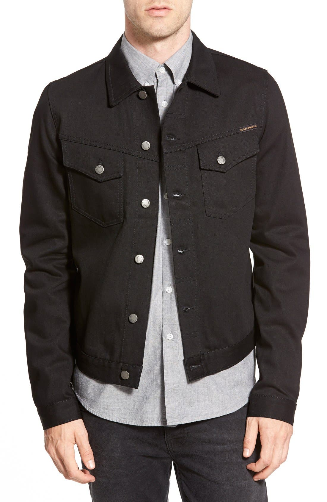 'Kenny' Denim Jacket, Main, color, 002