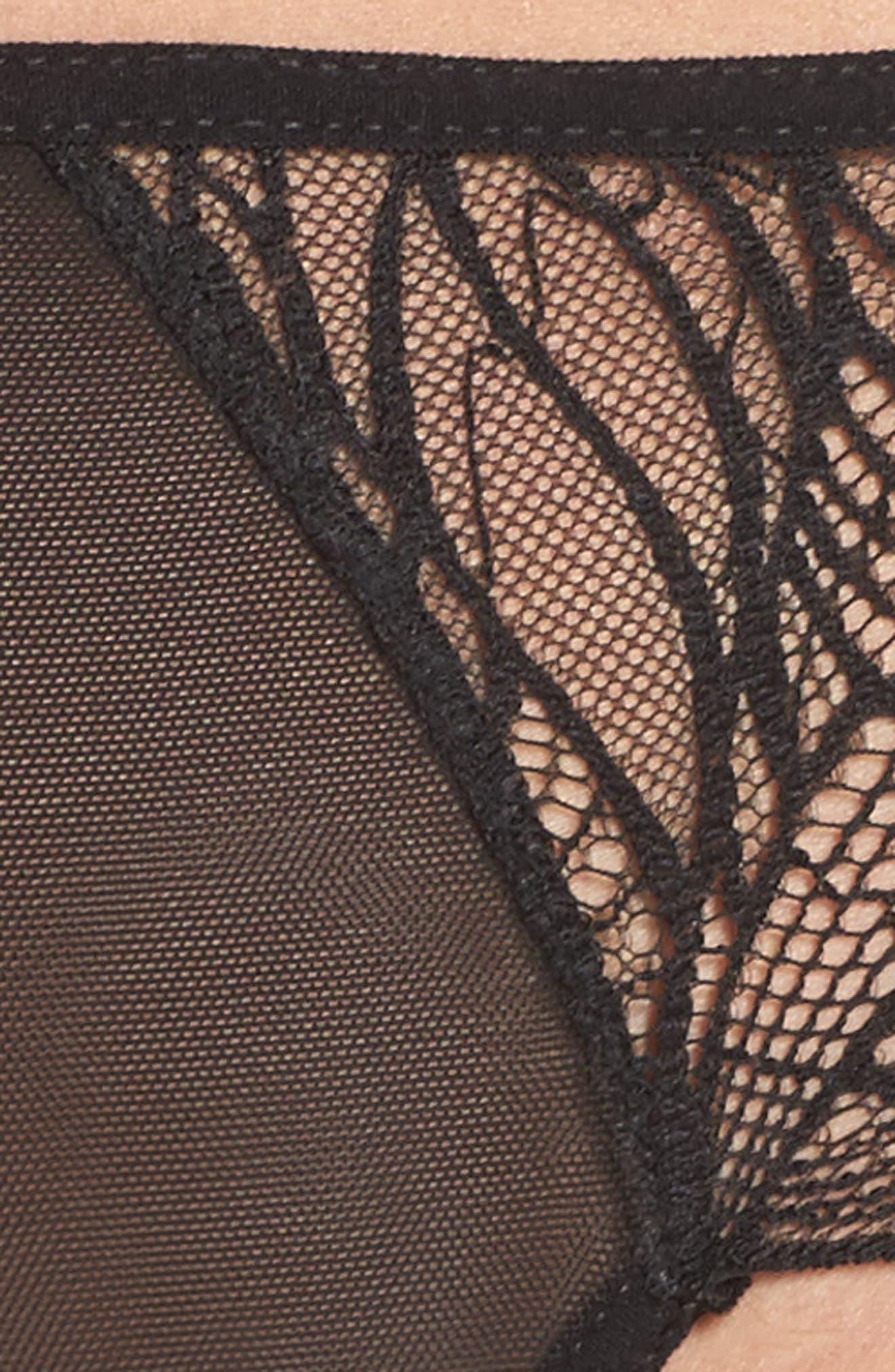 Emerson Panties,                             Alternate thumbnail 4, color,                             BLACK
