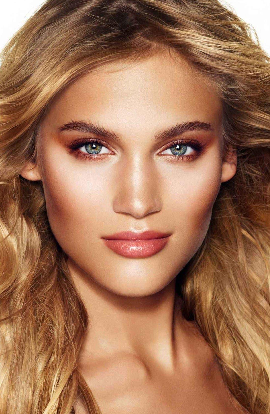 Luxury Palette - The Golden Goddess Color-Coded Eyeshadow Palette,                             Alternate thumbnail 5, color,                             THE GOLDEN GODDESS