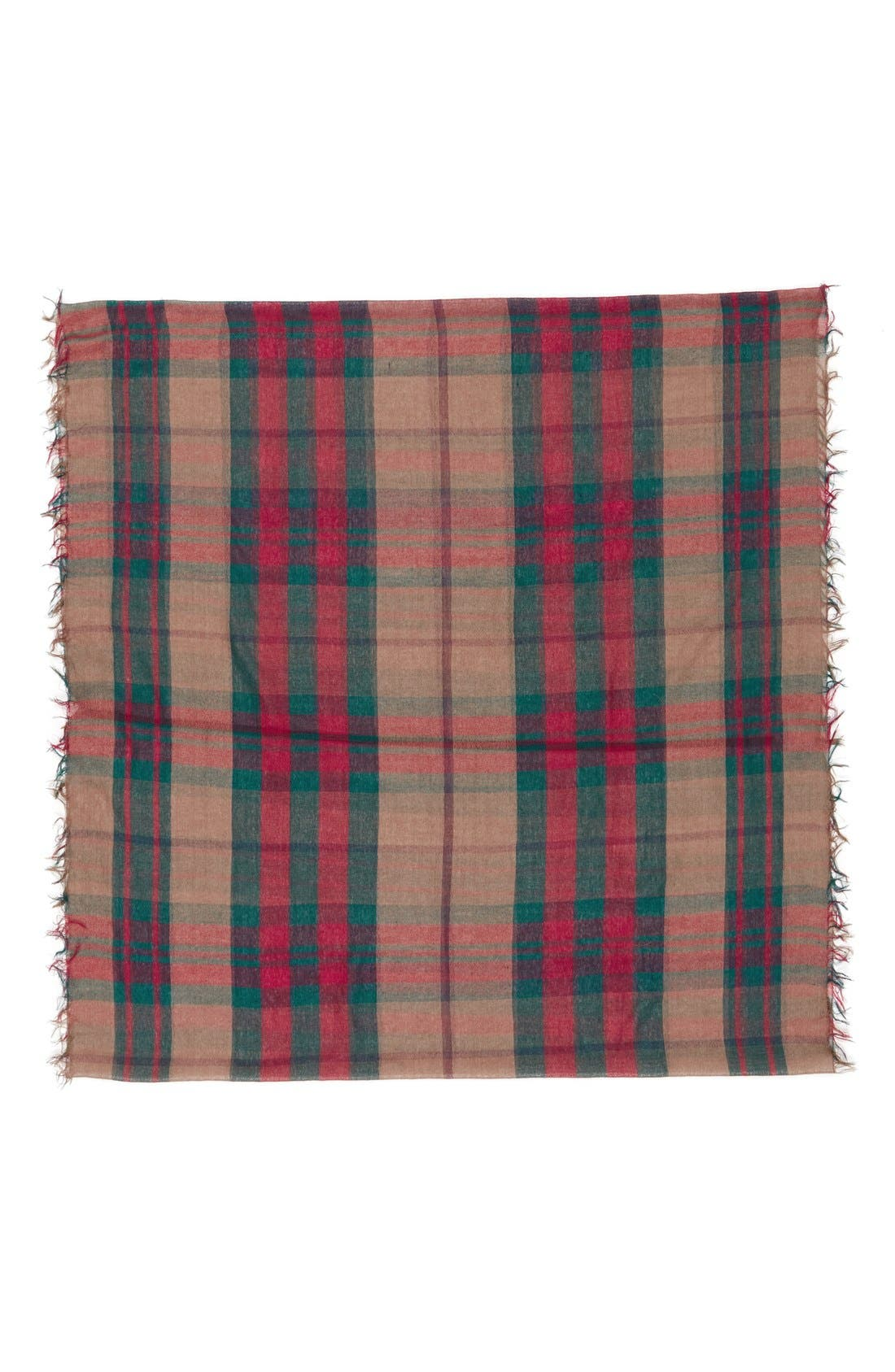 Plaid Infinity Scarf,                             Alternate thumbnail 10, color,