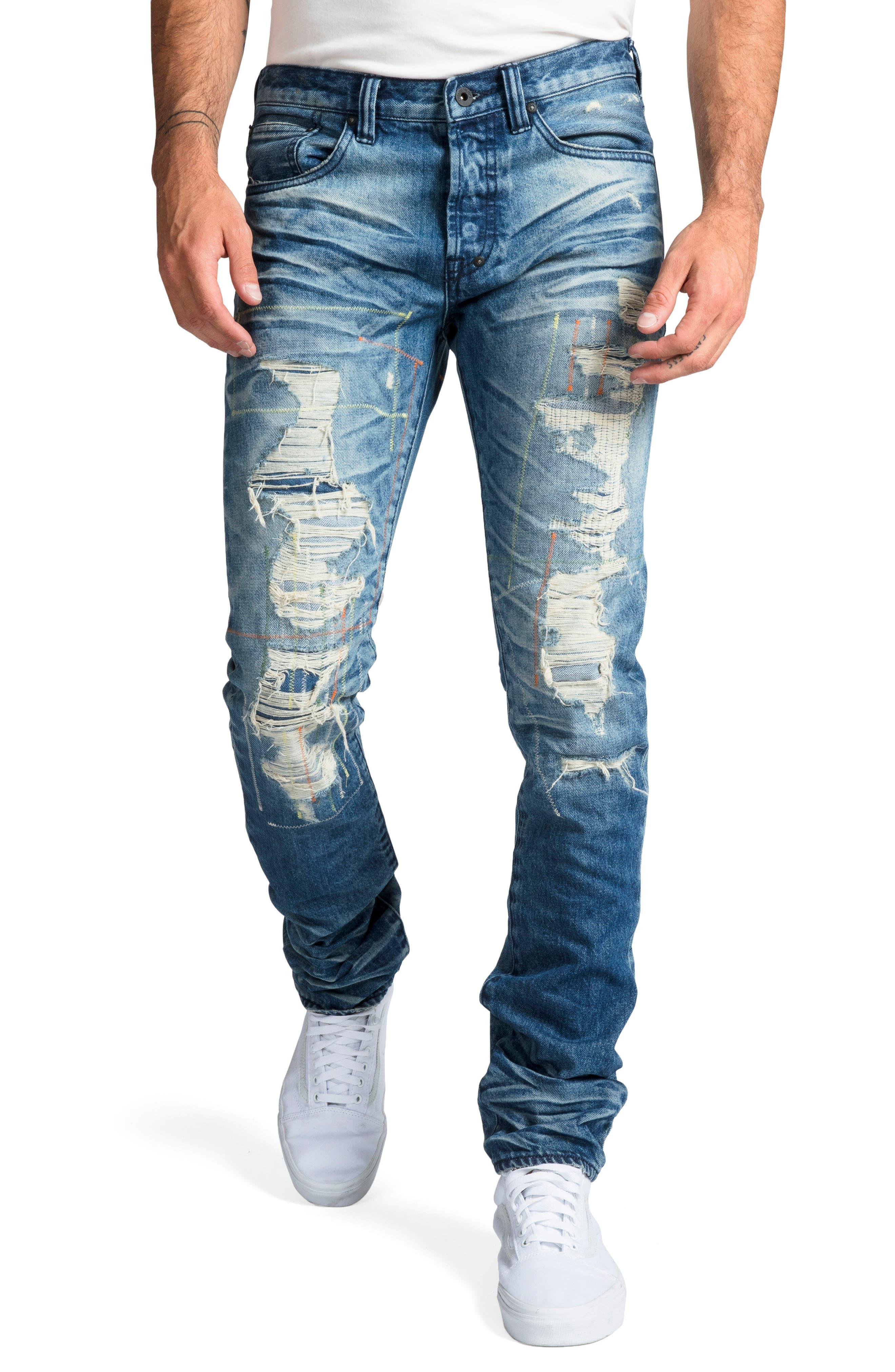 Le Sabre Slim Fit Jeans,                             Main thumbnail 1, color,                             COOING